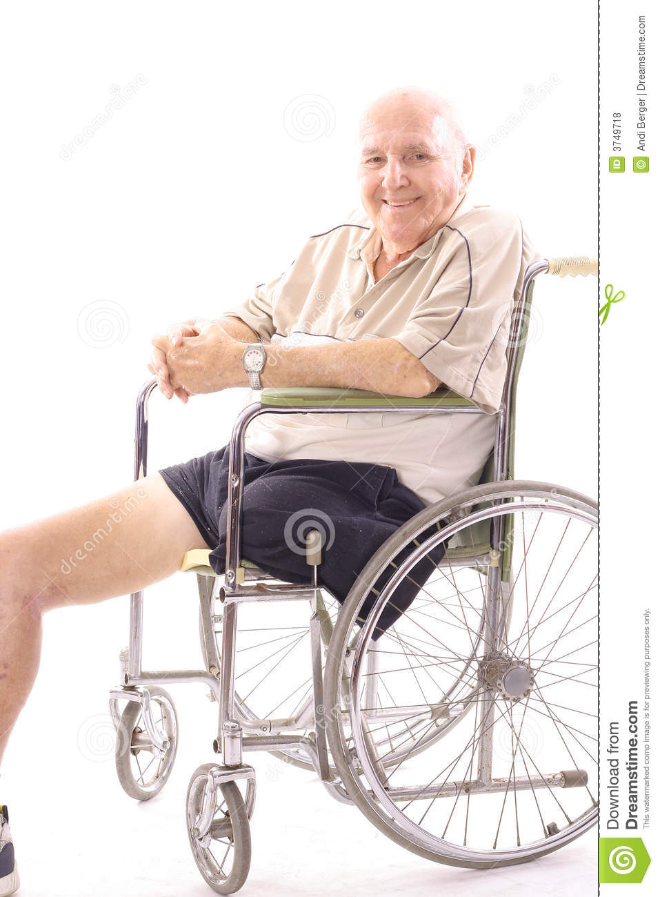 Handicap man in wheelchair royalty free stock photos Handicap wheelchair