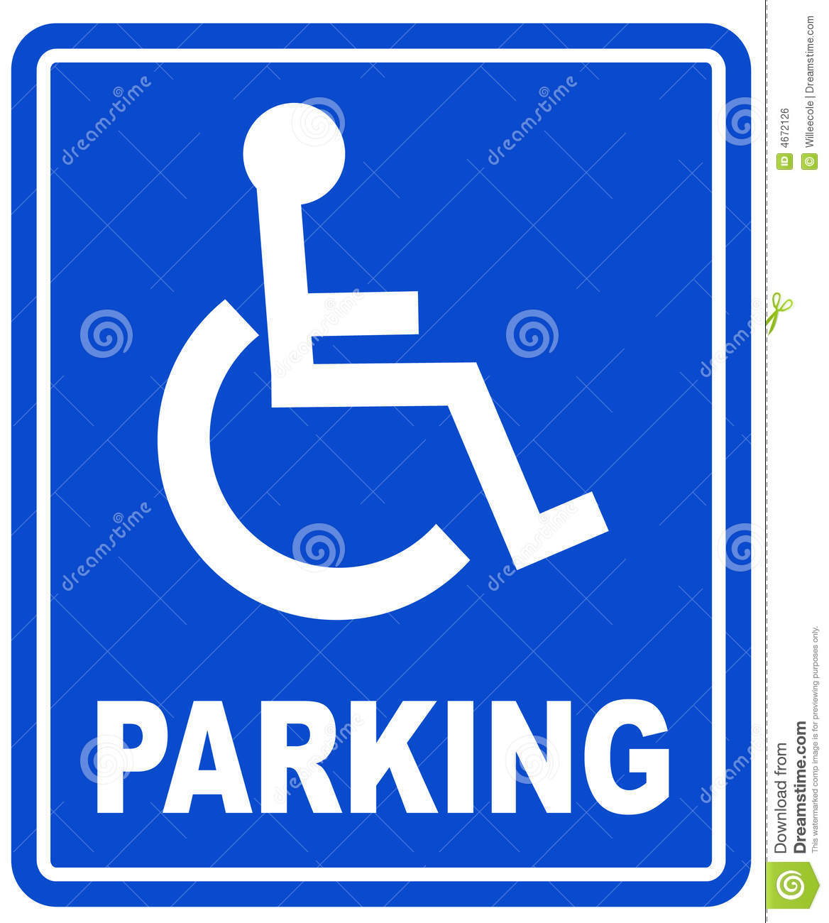 Handicap parking sign royalty free stock image image Handicapped wheelchair