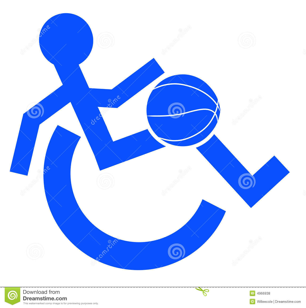 Handicap Sports Royalty Free Stock Photos Image 4966938