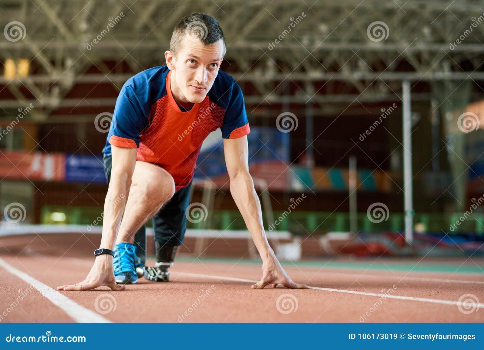 Handicapped Runner on Start