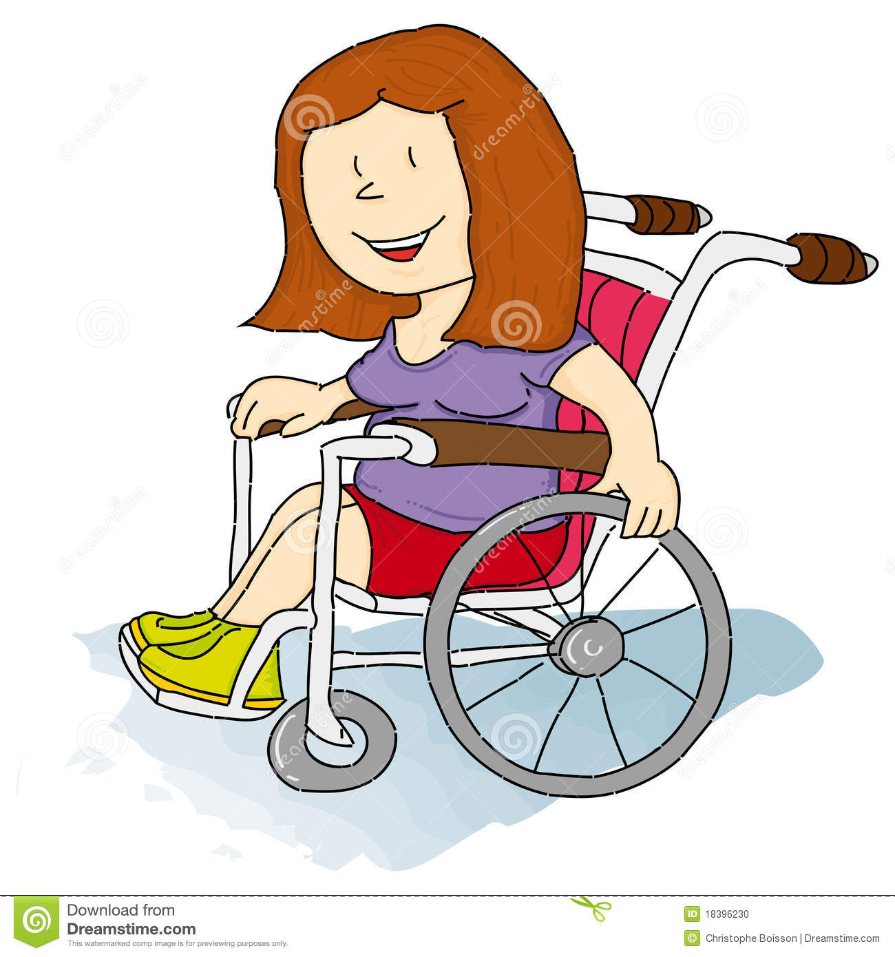 Handicapped Women Stock Photo - Image: 18396230