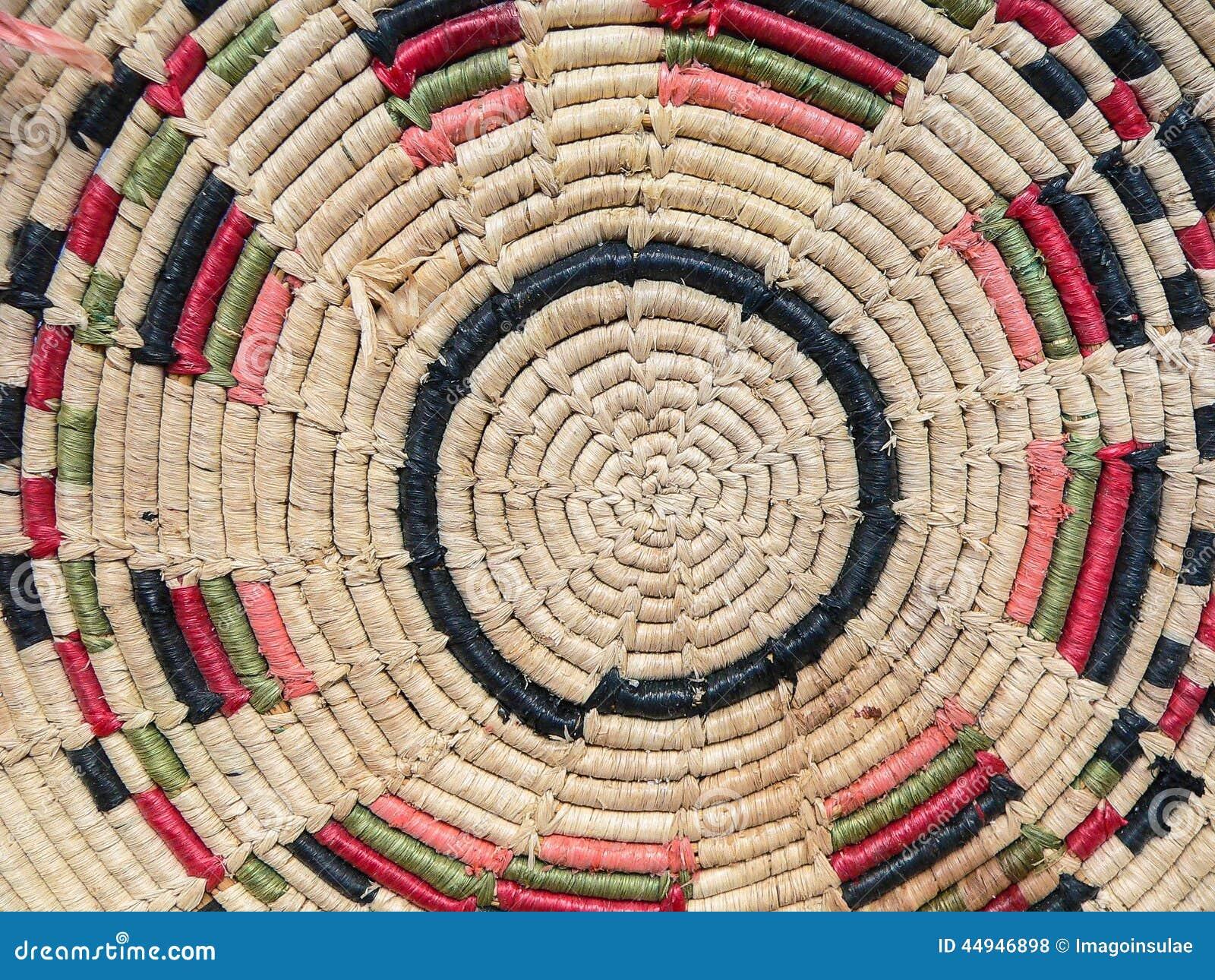 Handicraft. Basket