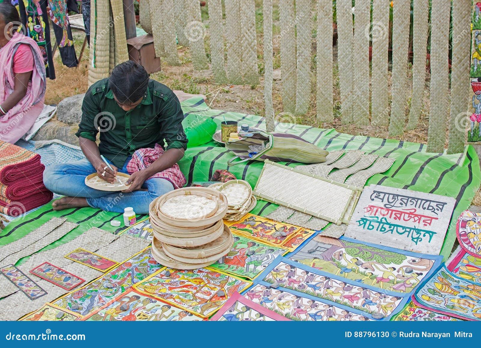Handicraft Items On Display Kolkata Editorial Image Image Of