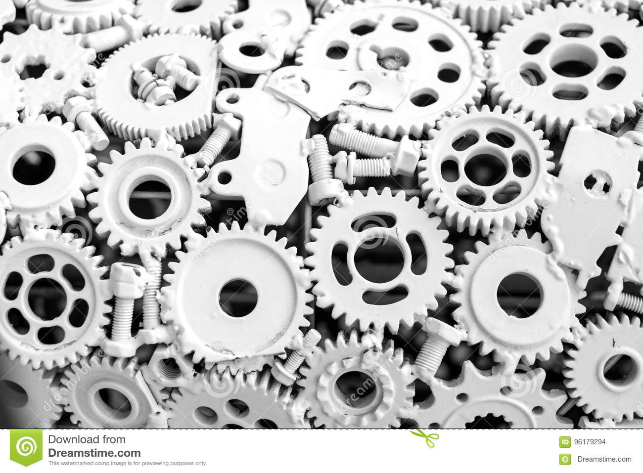 Handicraft Metal Artwork From Used Spare Parts Stock Photo Image Of Artwork Industrial 96179294