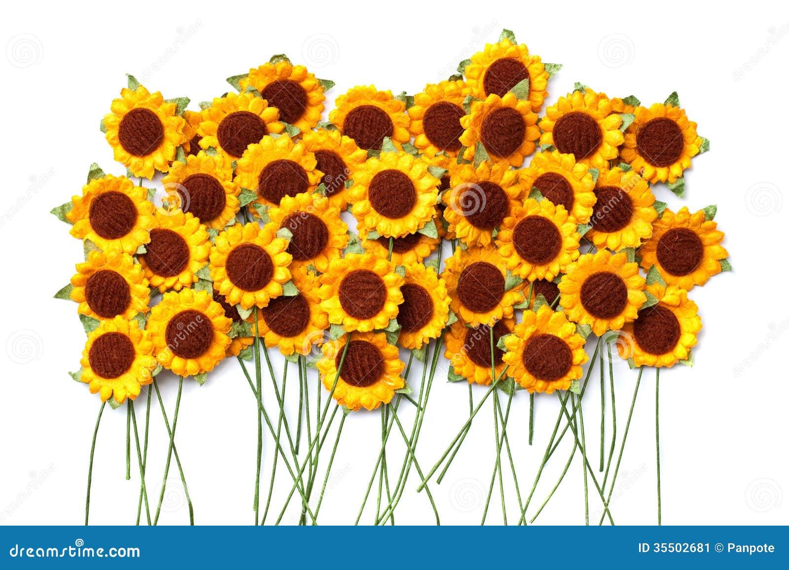 Handicraft Paper Flower Stock Image Image Of Artistic 35502681