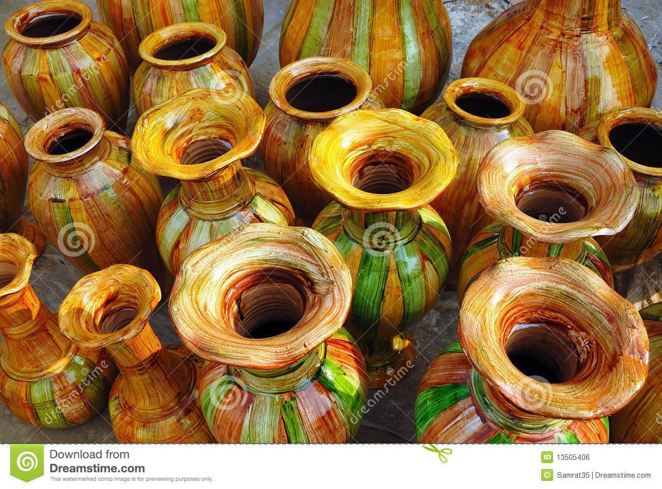 Handicrafts Of India Stock Photo Image Of Culture Paint 13505406