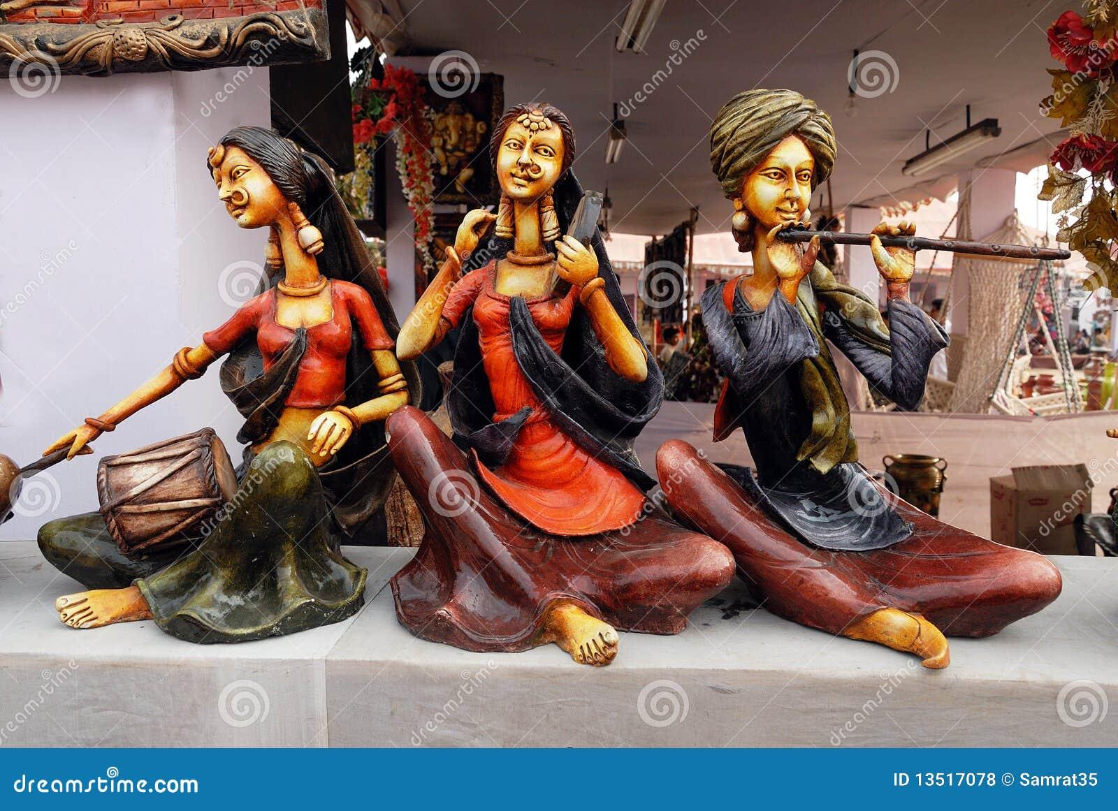 Handicrafts Of India Stock Photo Image Of Handicrafts 13517078