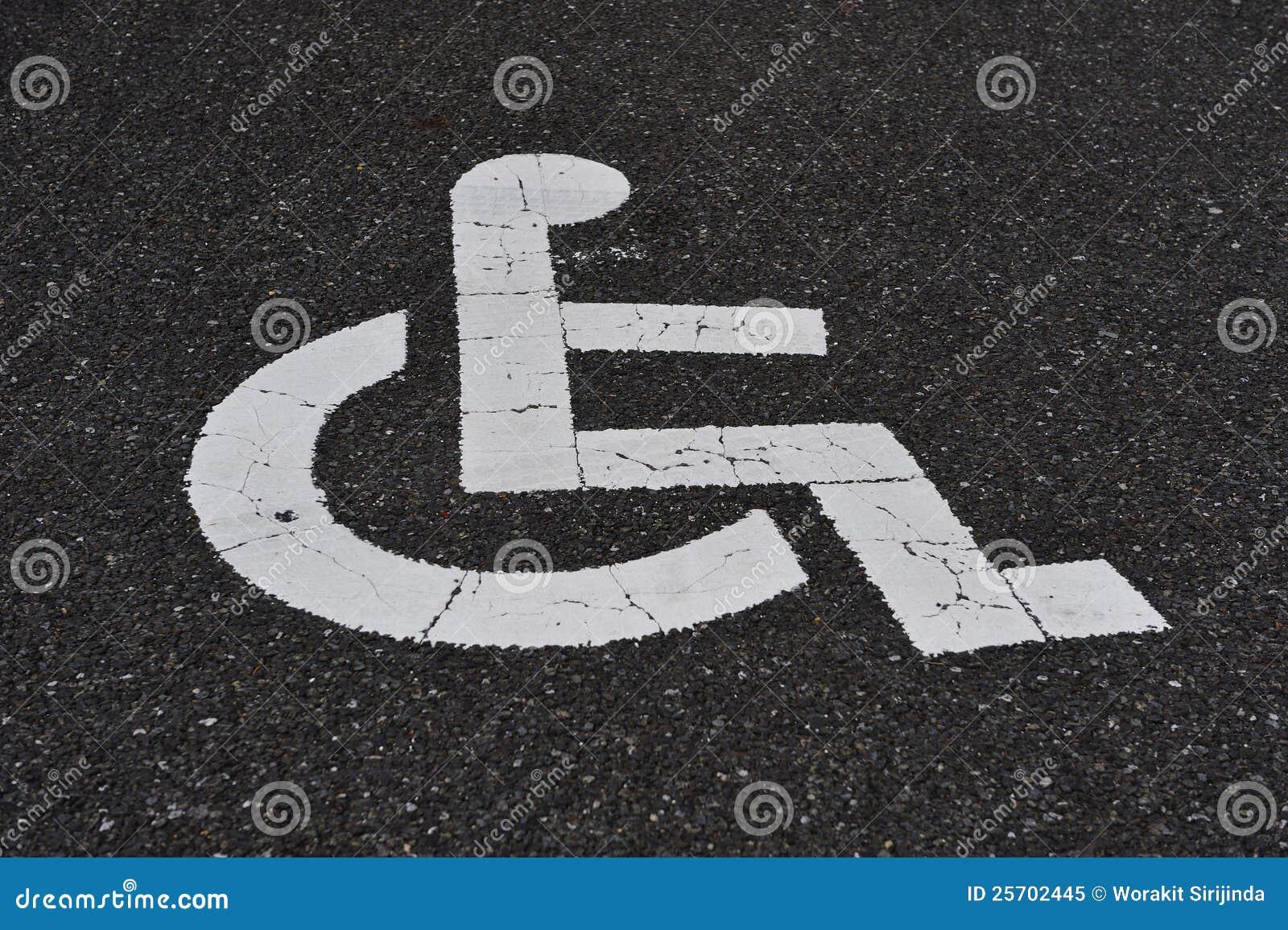 Handikap-Zeichen
