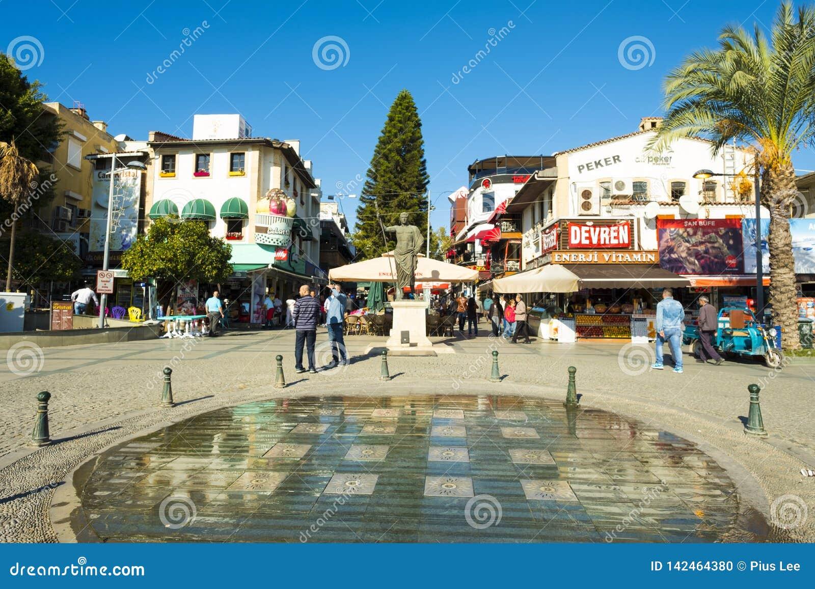 Handlowa Zwyczajna Restauracyjna strefa Antalya V