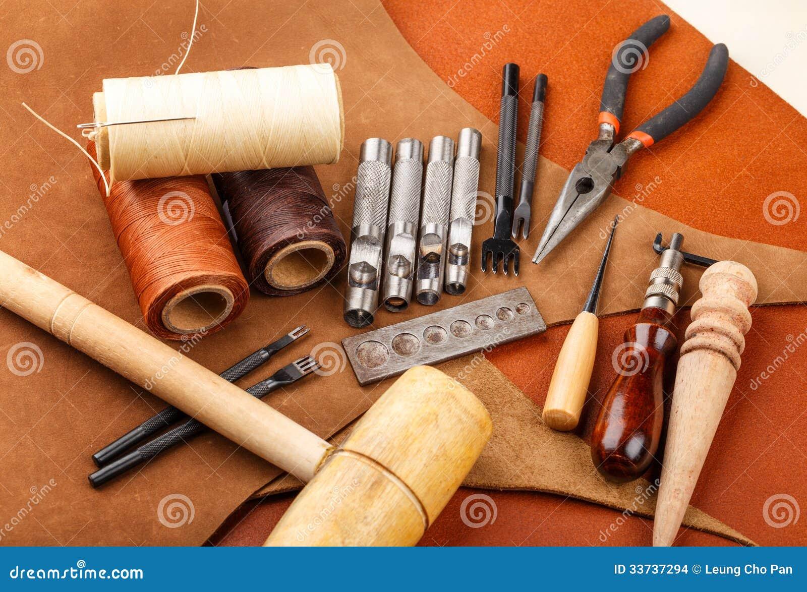Handmade кожаный инструмент корабля