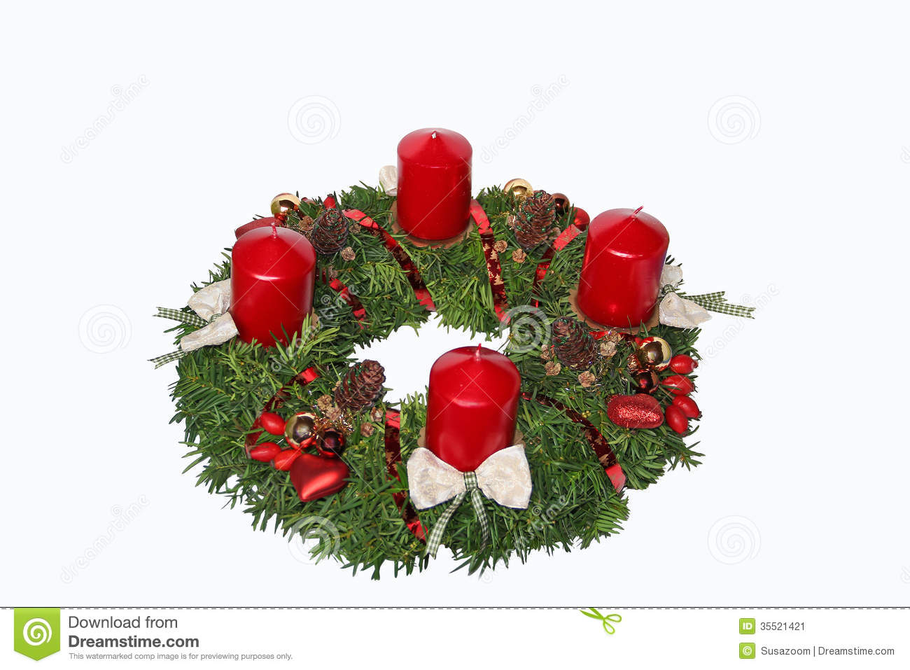 handmade advent wreath with red candles cones rose hip. Black Bedroom Furniture Sets. Home Design Ideas