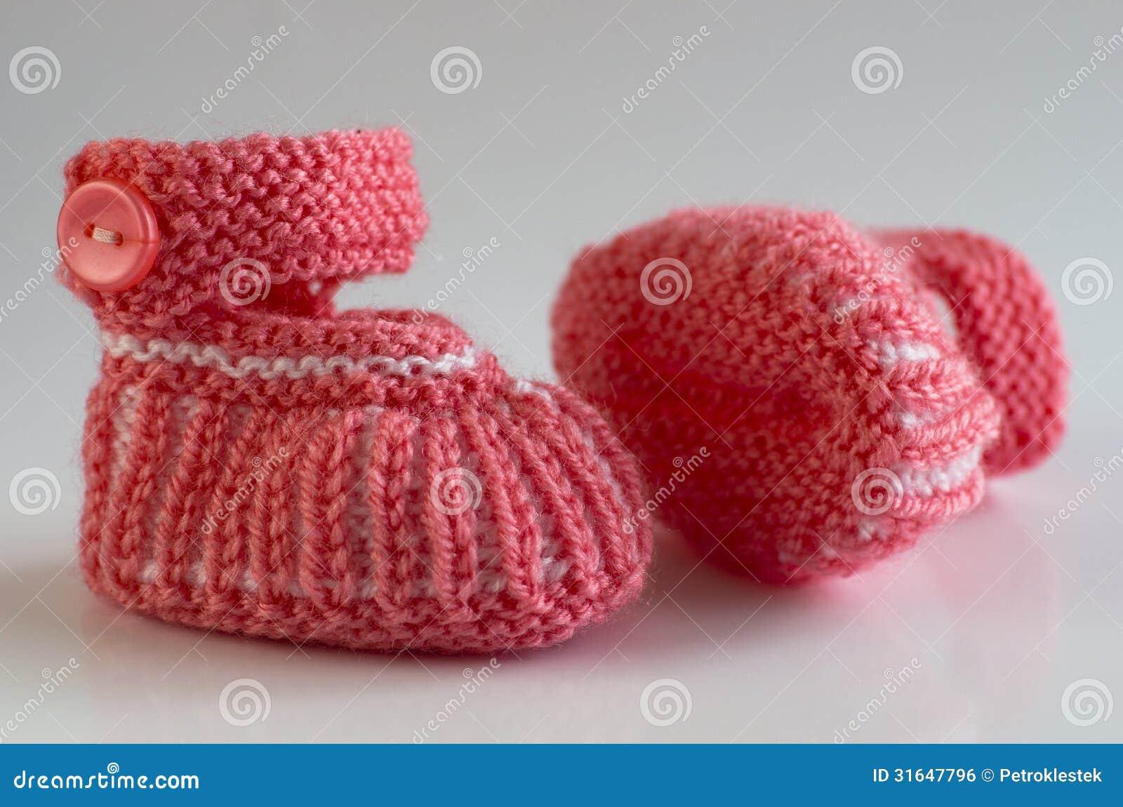 Handmade Baby Mufflers Stock Photo Image Of Pair Handmade 31647796