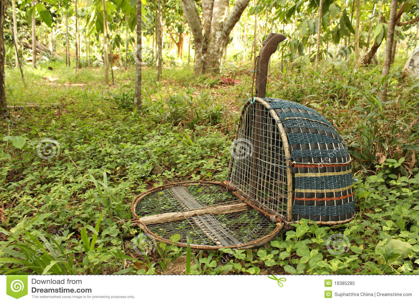 Handmade Bird Trap Royalty Free Stock Photo - Image: 19385285