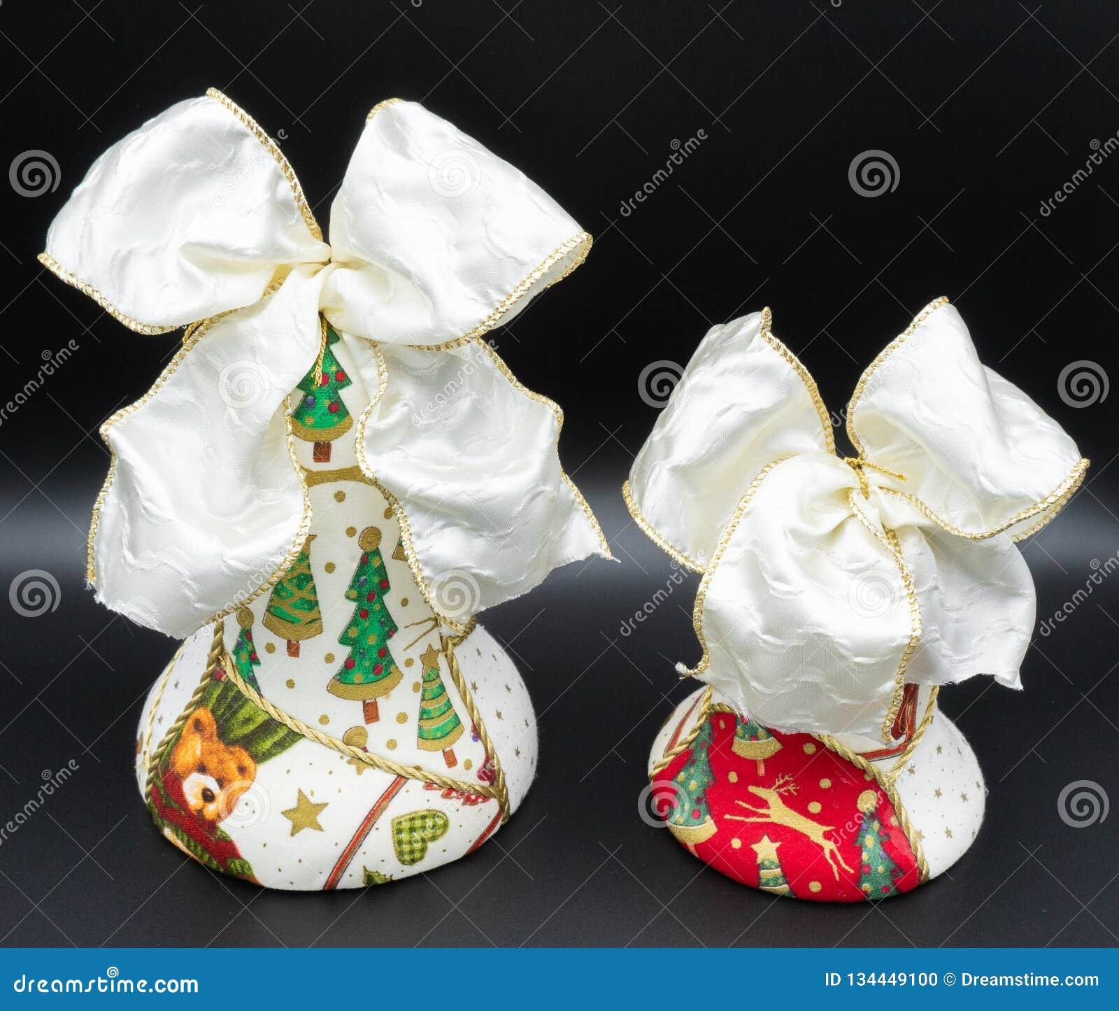 Handmade boże narodzenie dzwony