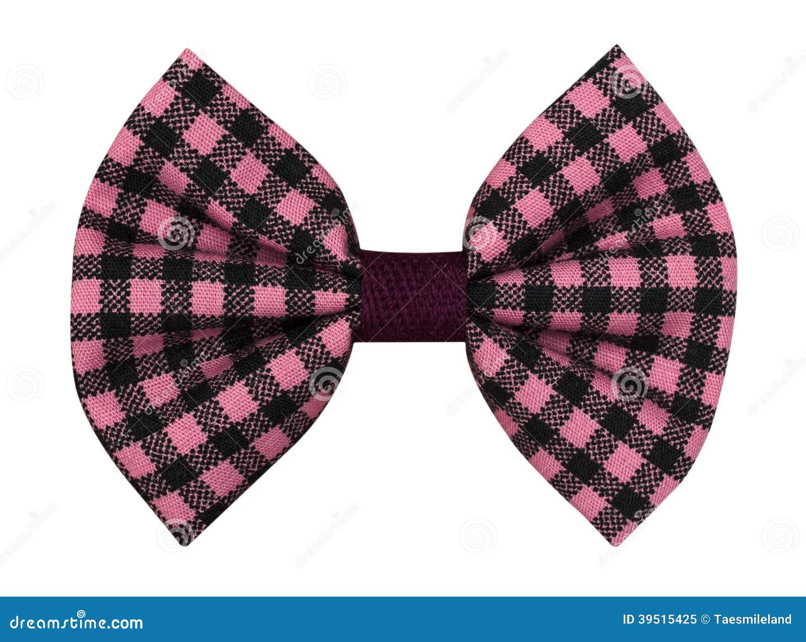 Handmade bow tie isolated