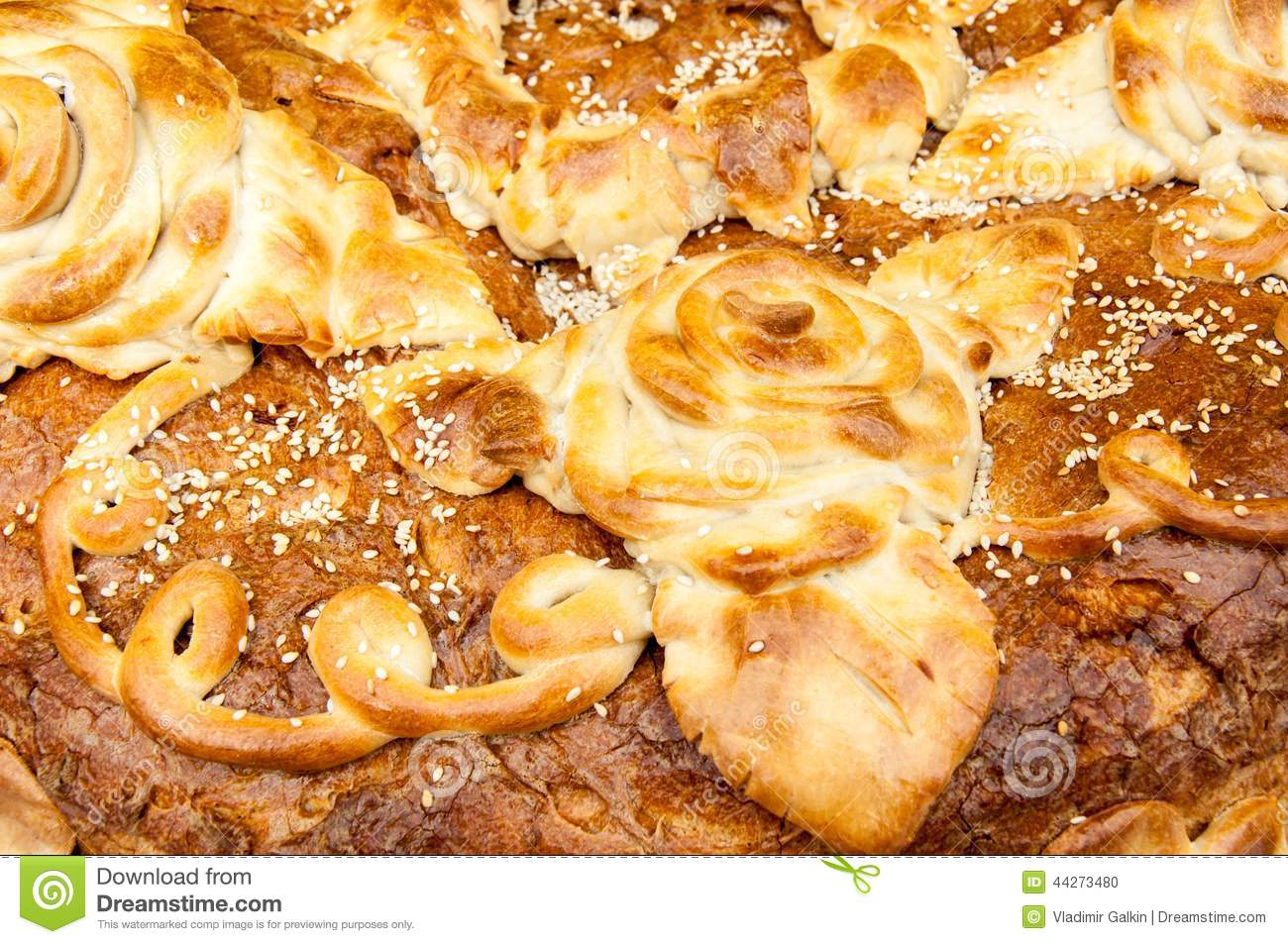 Handmade bread stock photo image 44273480 for Authentic russian cuisine