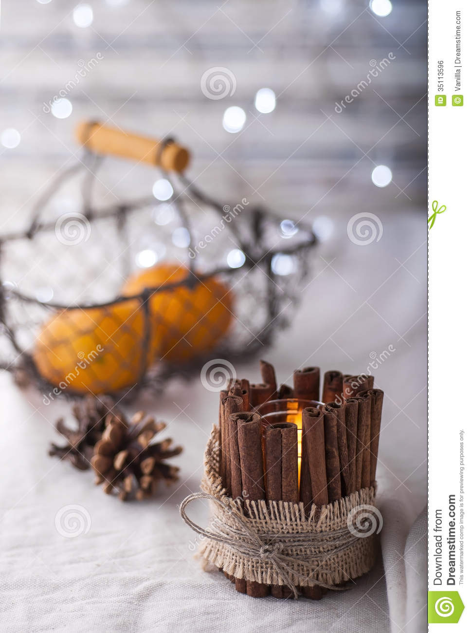 Handmade Candle Stand Designs : Handmade candle holder royalty free stock image
