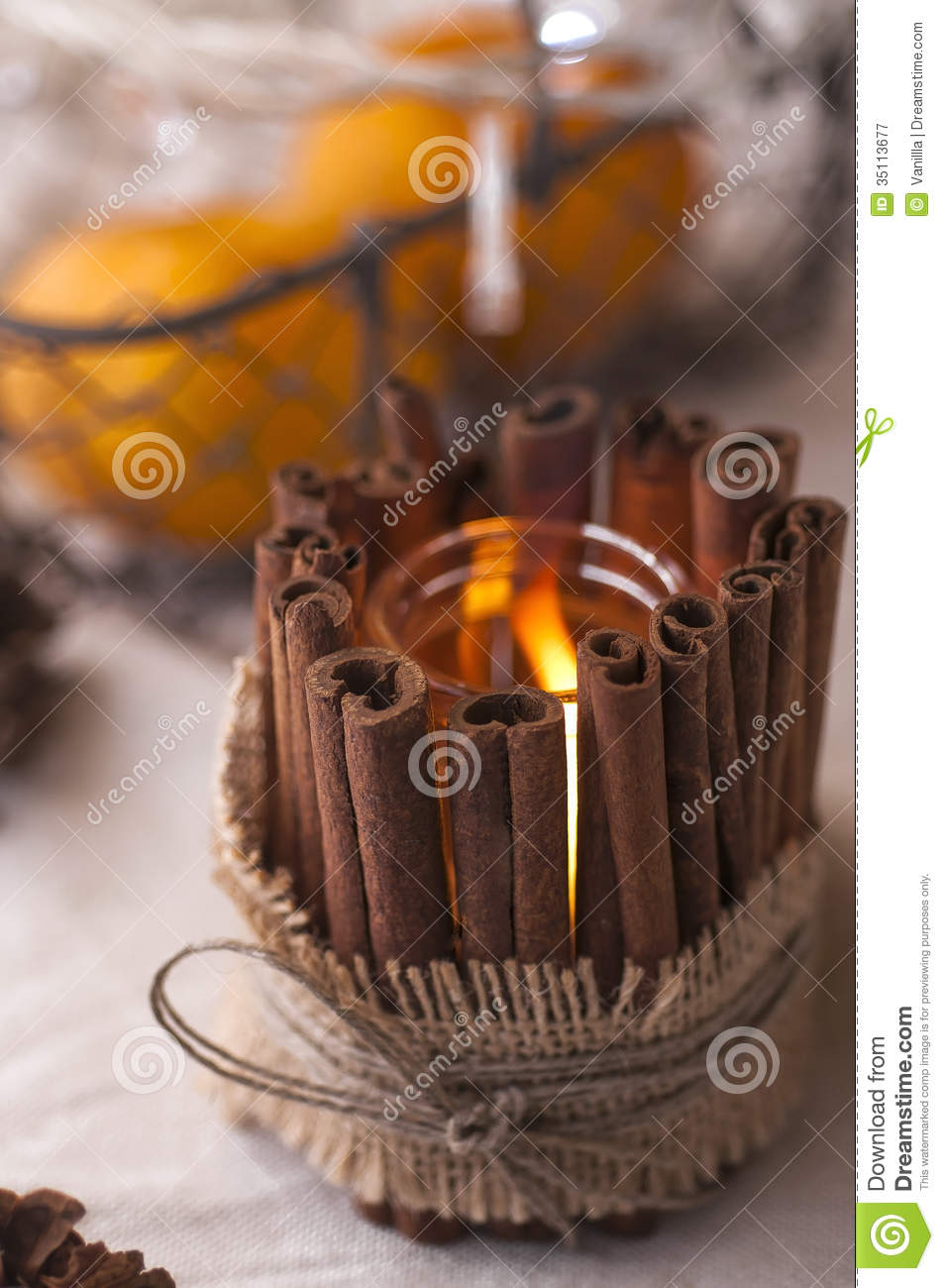 Handmade Candle Stand Designs : Handmade candle holder stock image of
