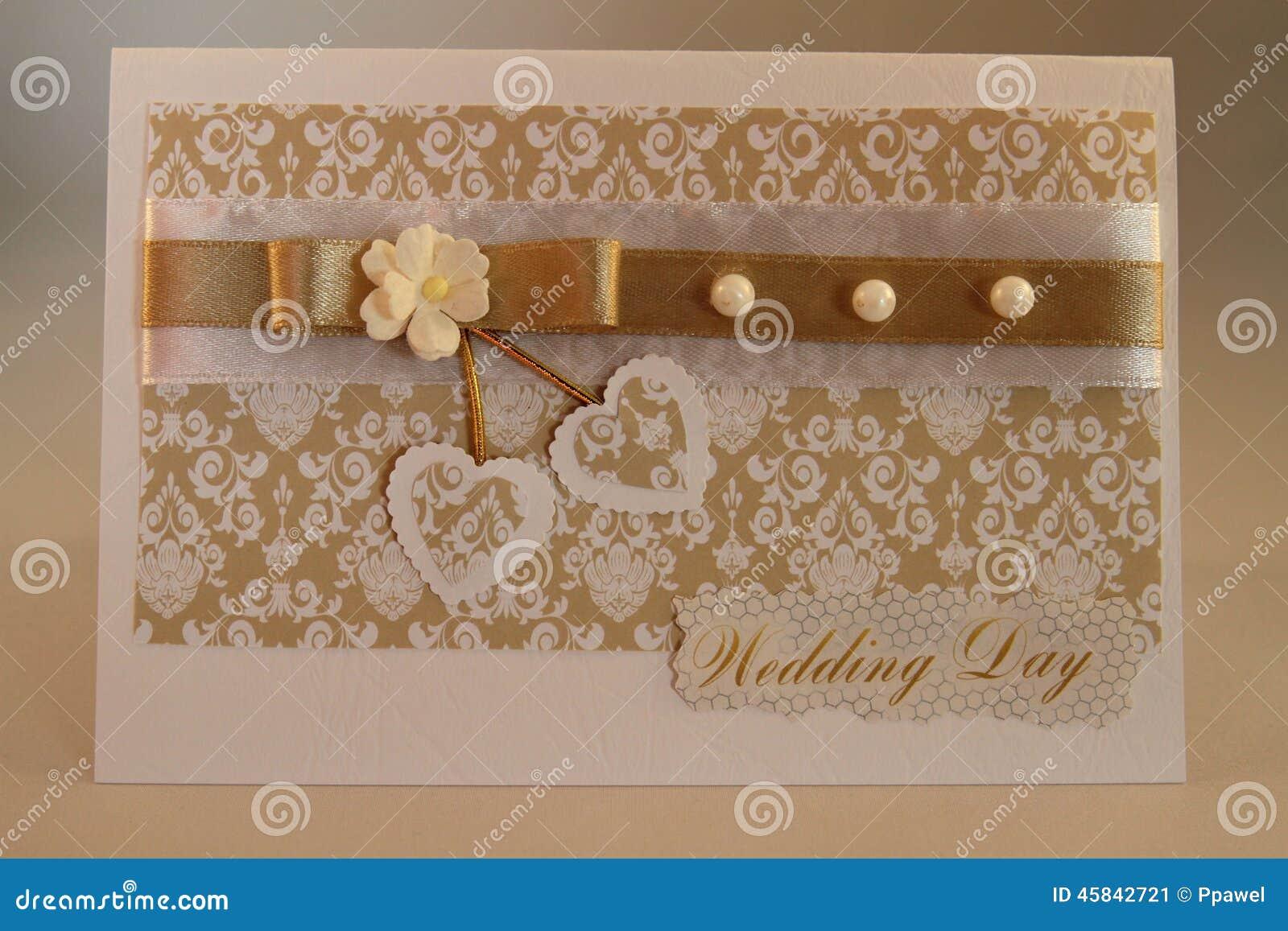 Handmade Card Stock Photo