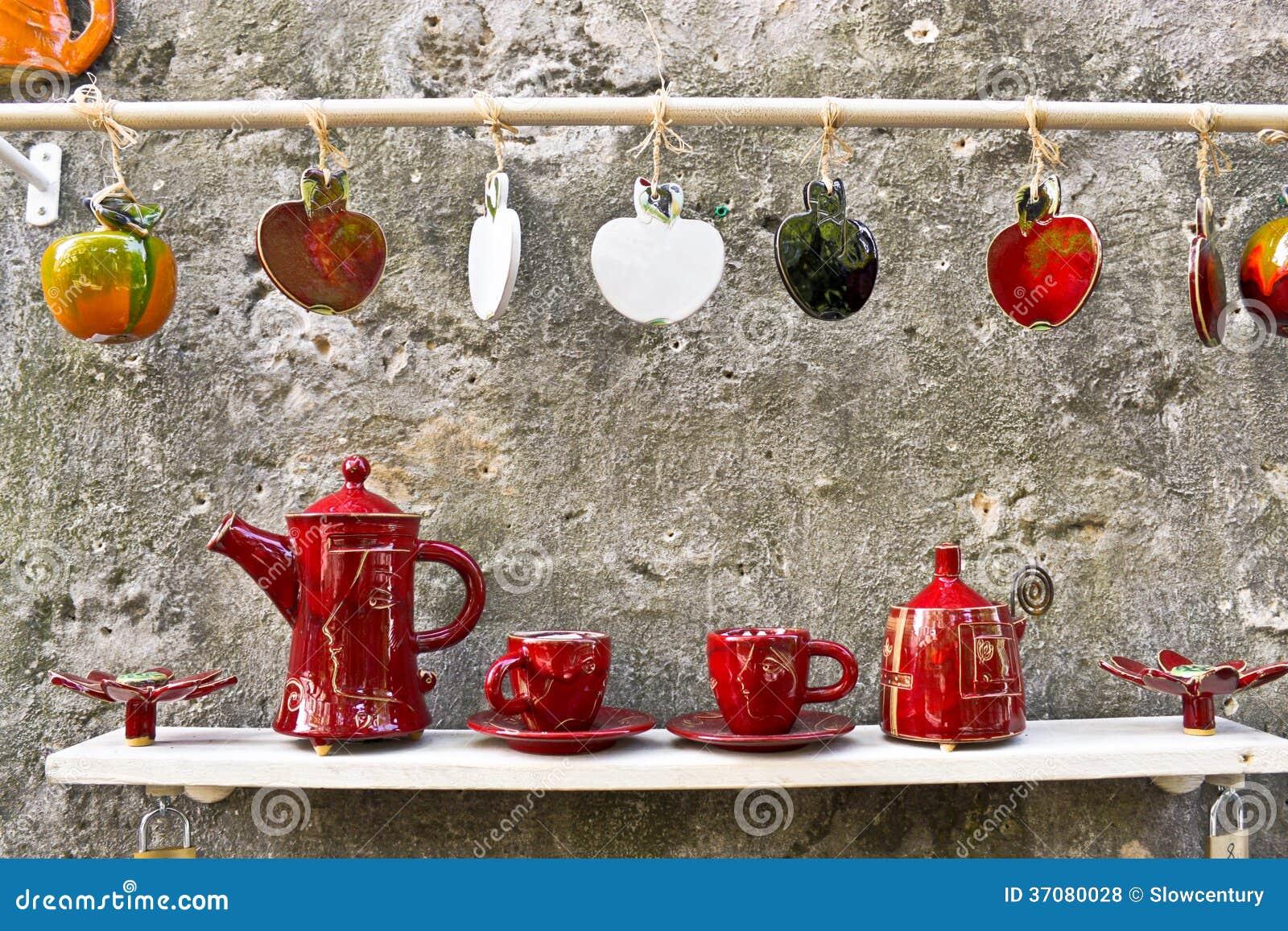 Download Handmade ceramics zdjęcie stock editorial. Obraz złożonej z item - 37080028