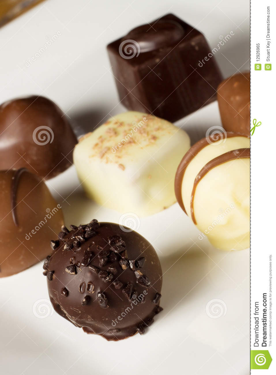 Handmade Chocolates Royalty Free Stock Photo Image 12926965
