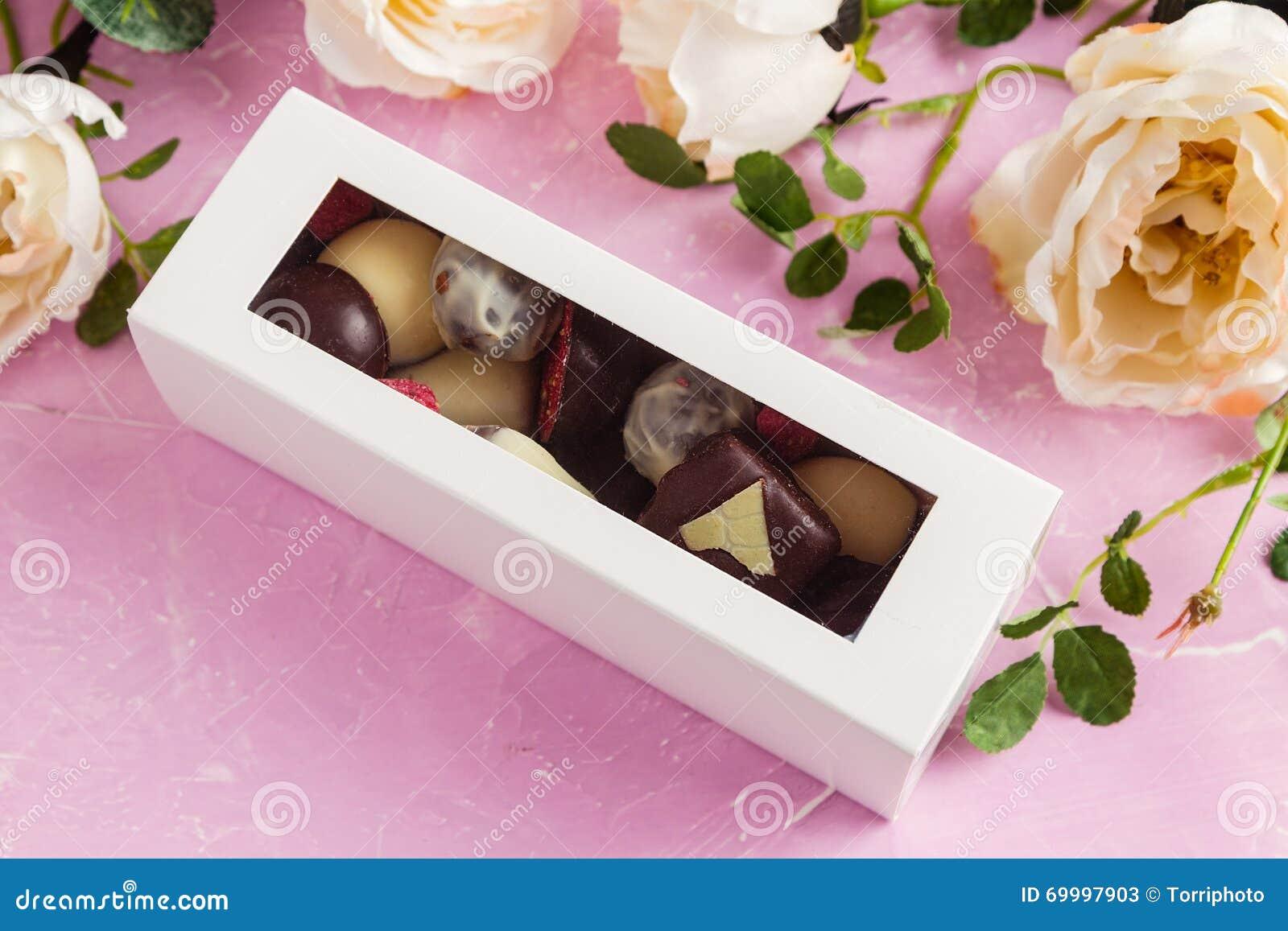 Handmade Chocolates In Gift Box
