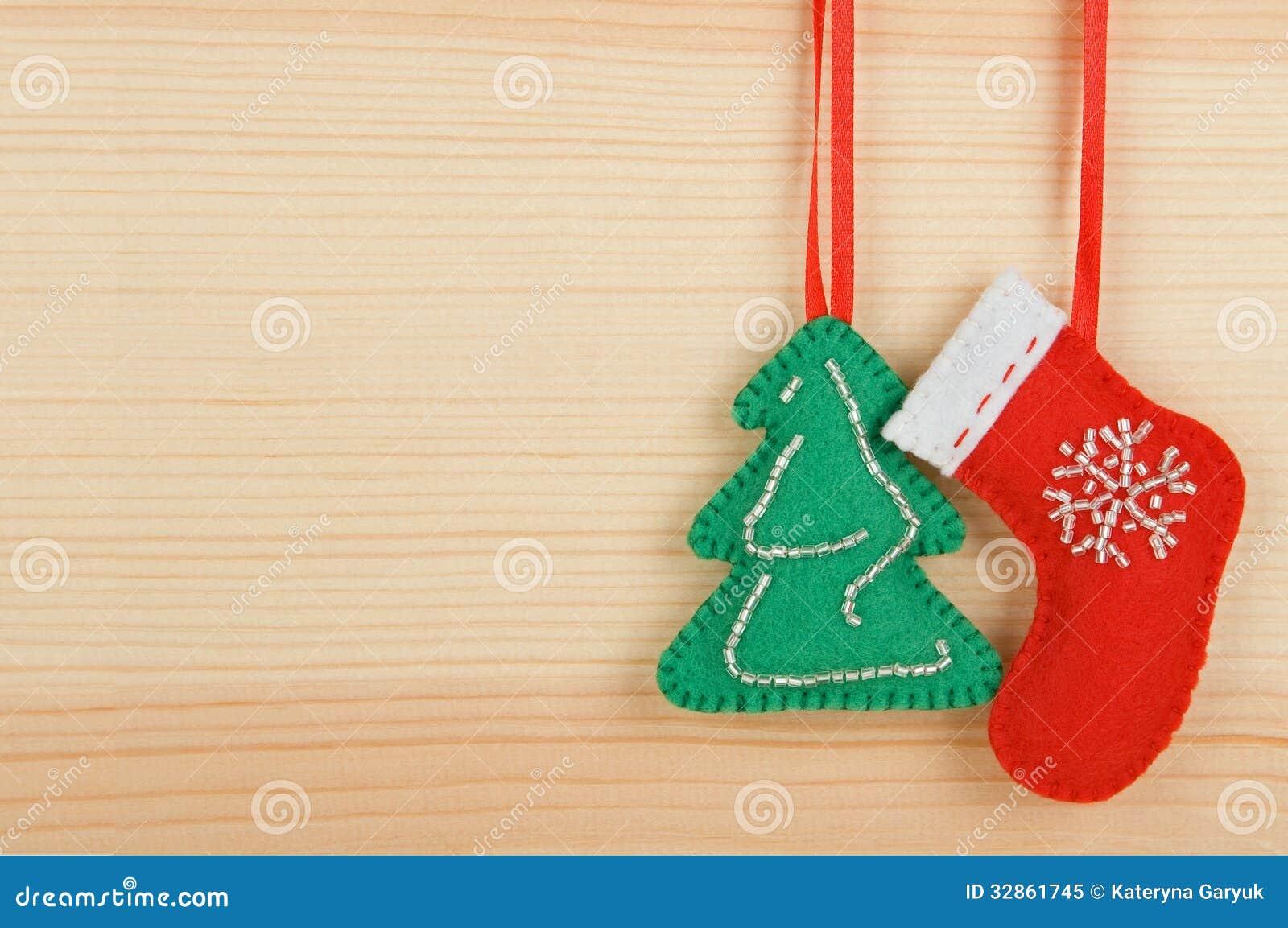 Soft Felt Christmas Tree Decoration