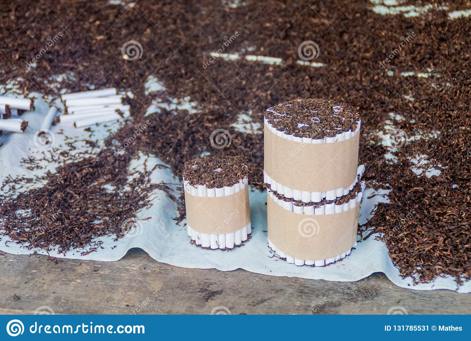 Handmade cigarettes