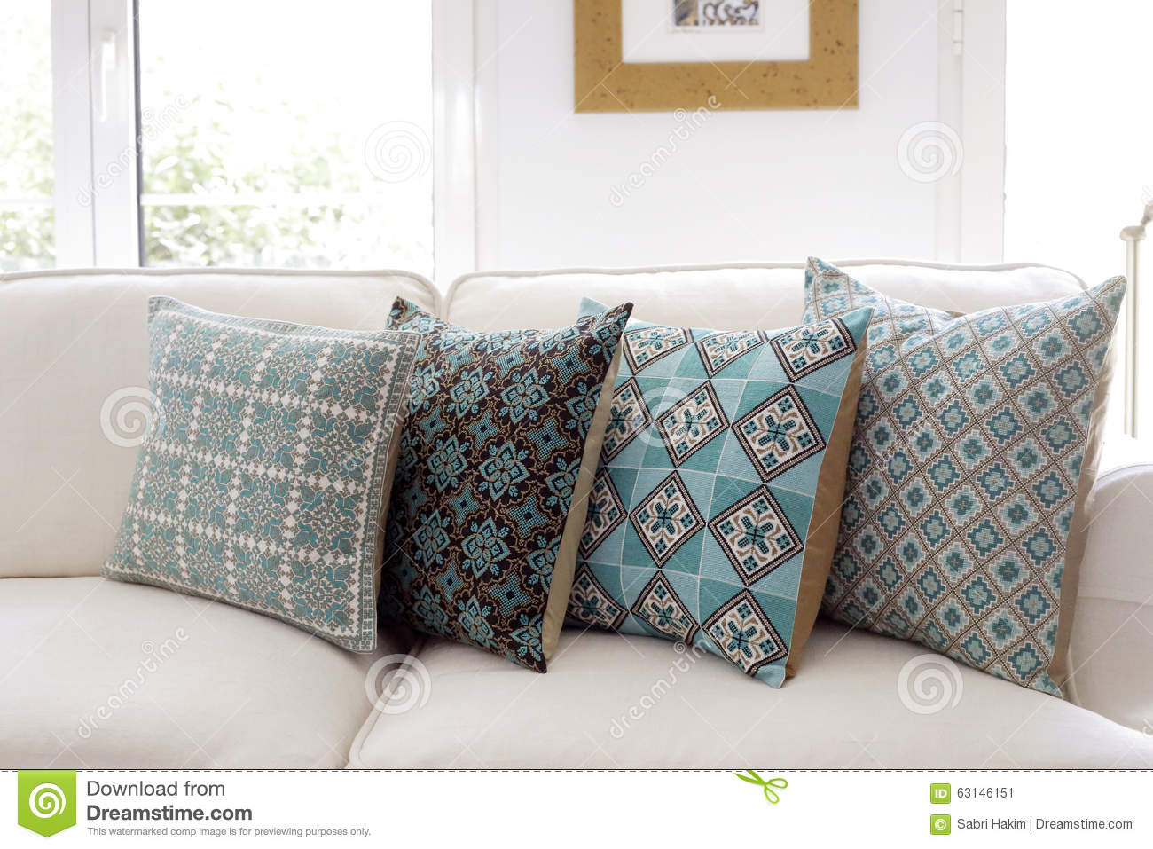 Pillows For Sofa Cactus Throw Pillows For Couch Pastoral Style