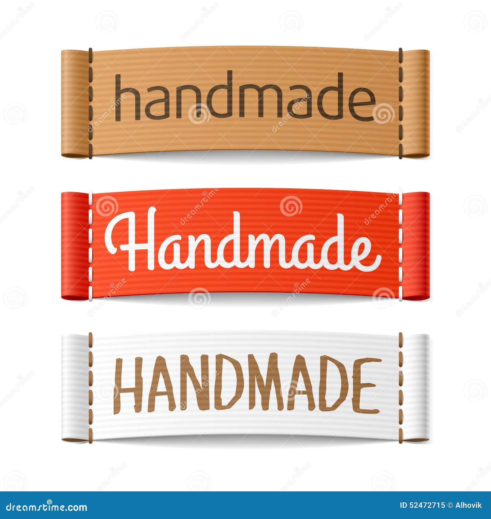 Handmade etykietki