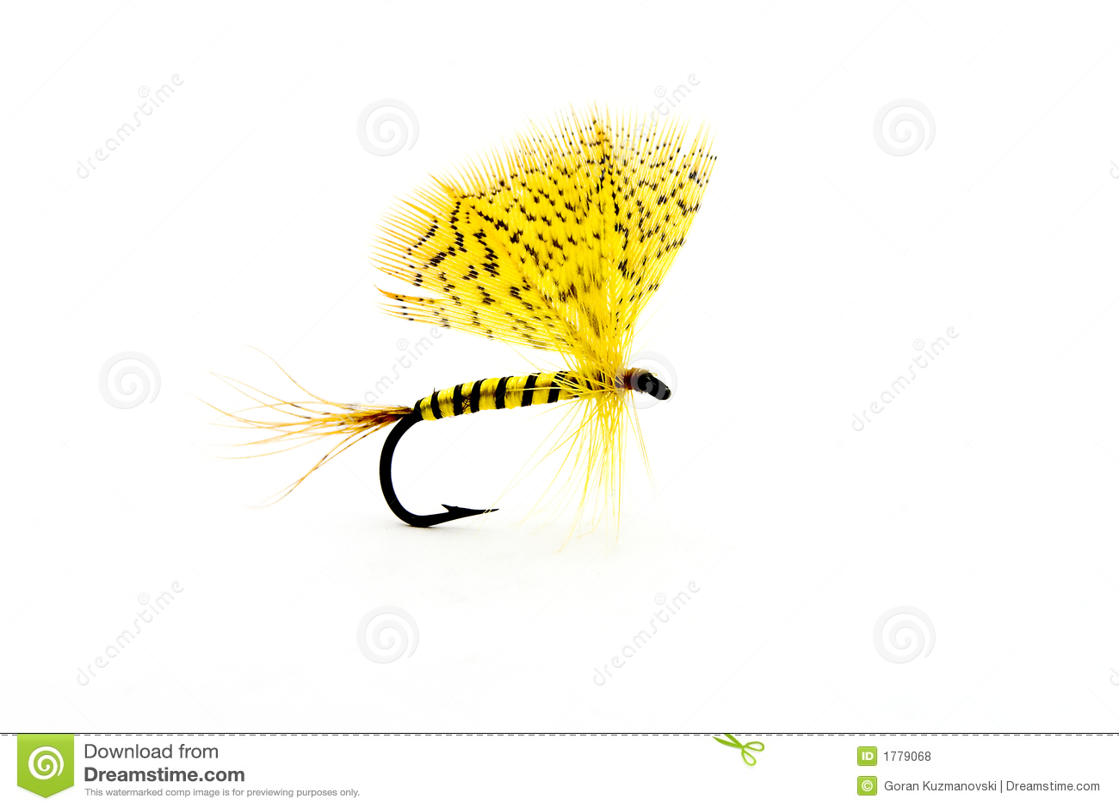 Handmade fly fishing hook