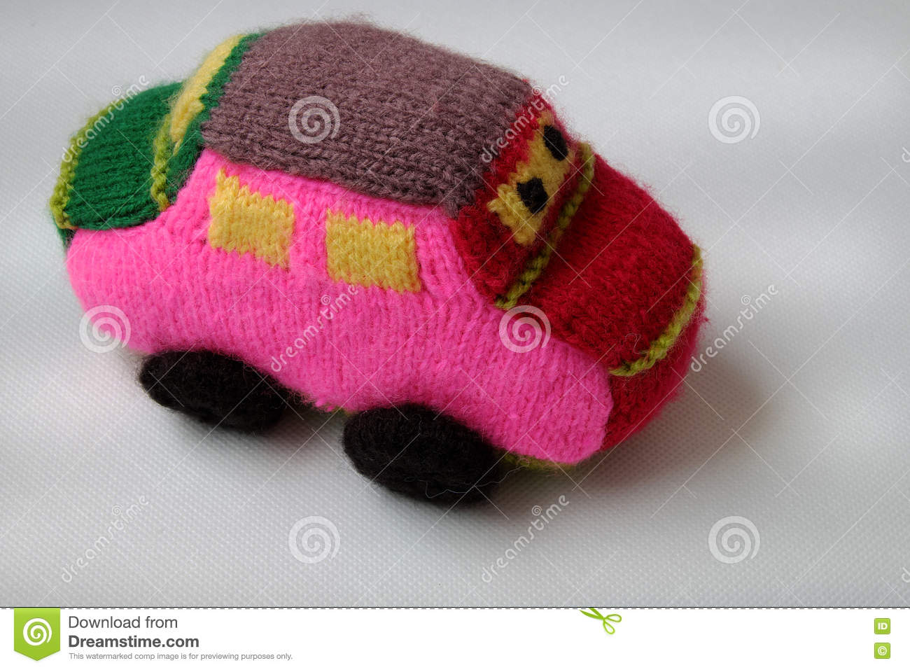 How to knit by car 36