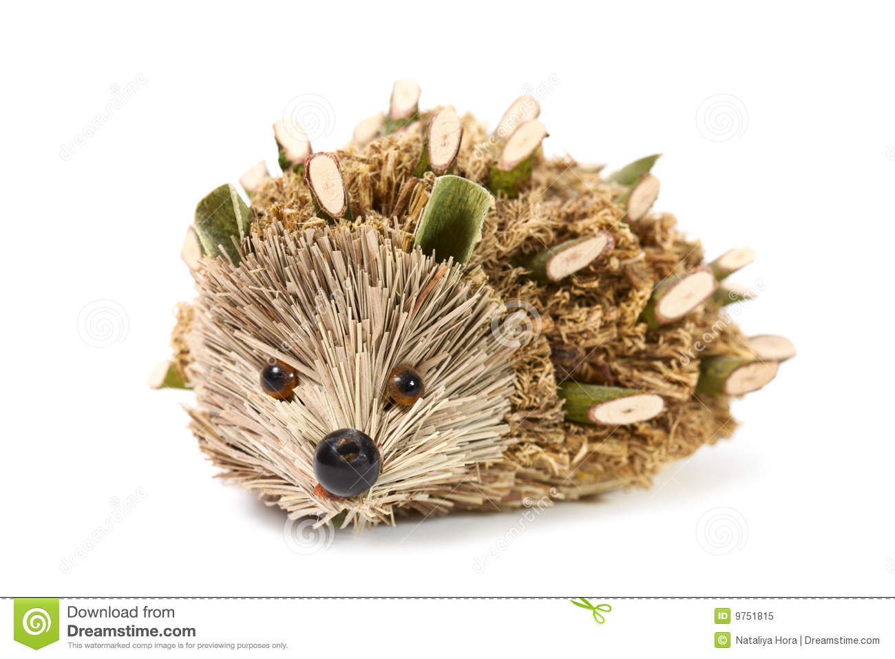 Handmade hedgehog royalty free stock photo image 9751815 - Activite manuelle pomme de pin ...