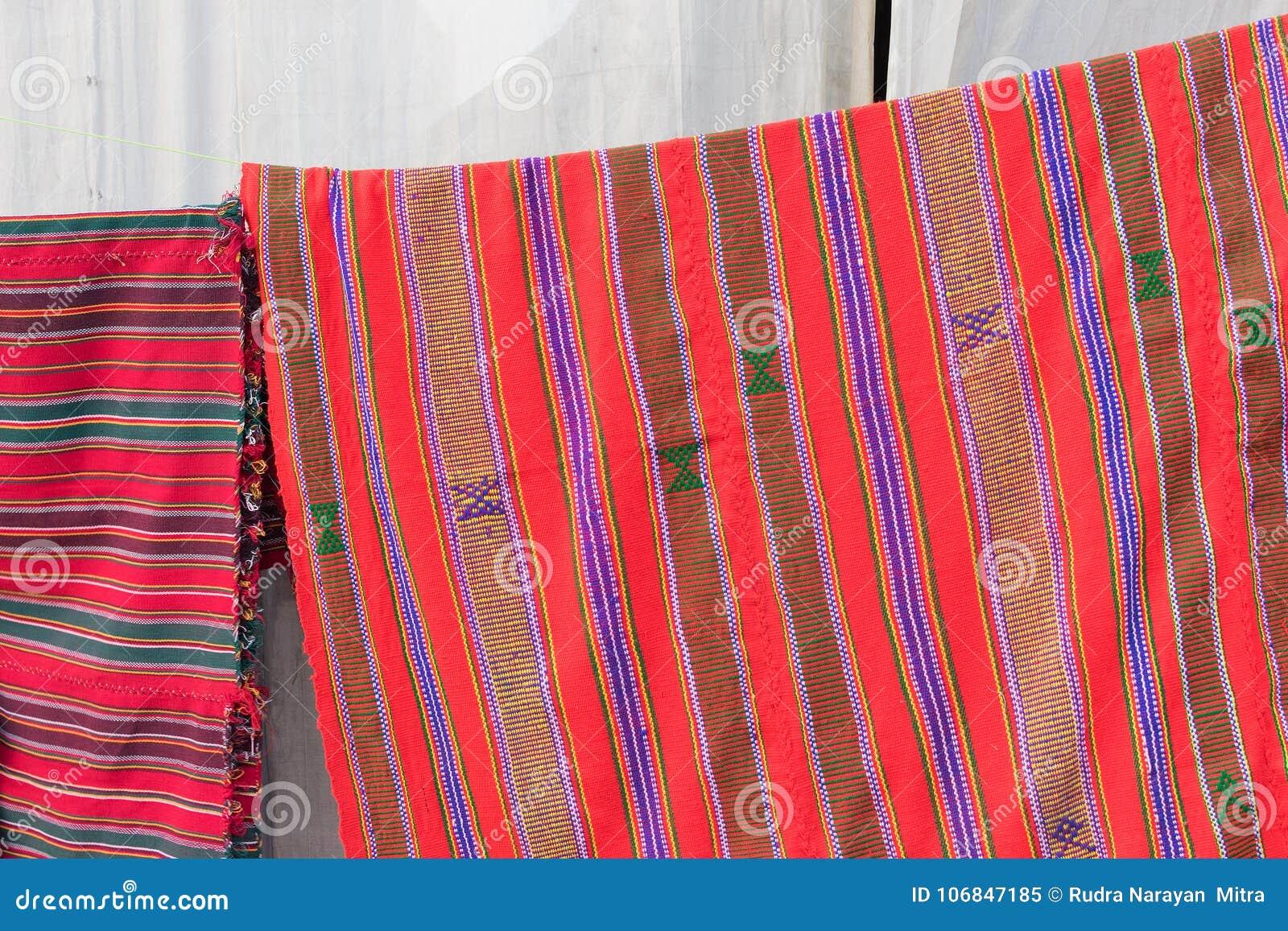 Handmade Jute Carpets Indian Handicrafts Fair At Kolkata Stock