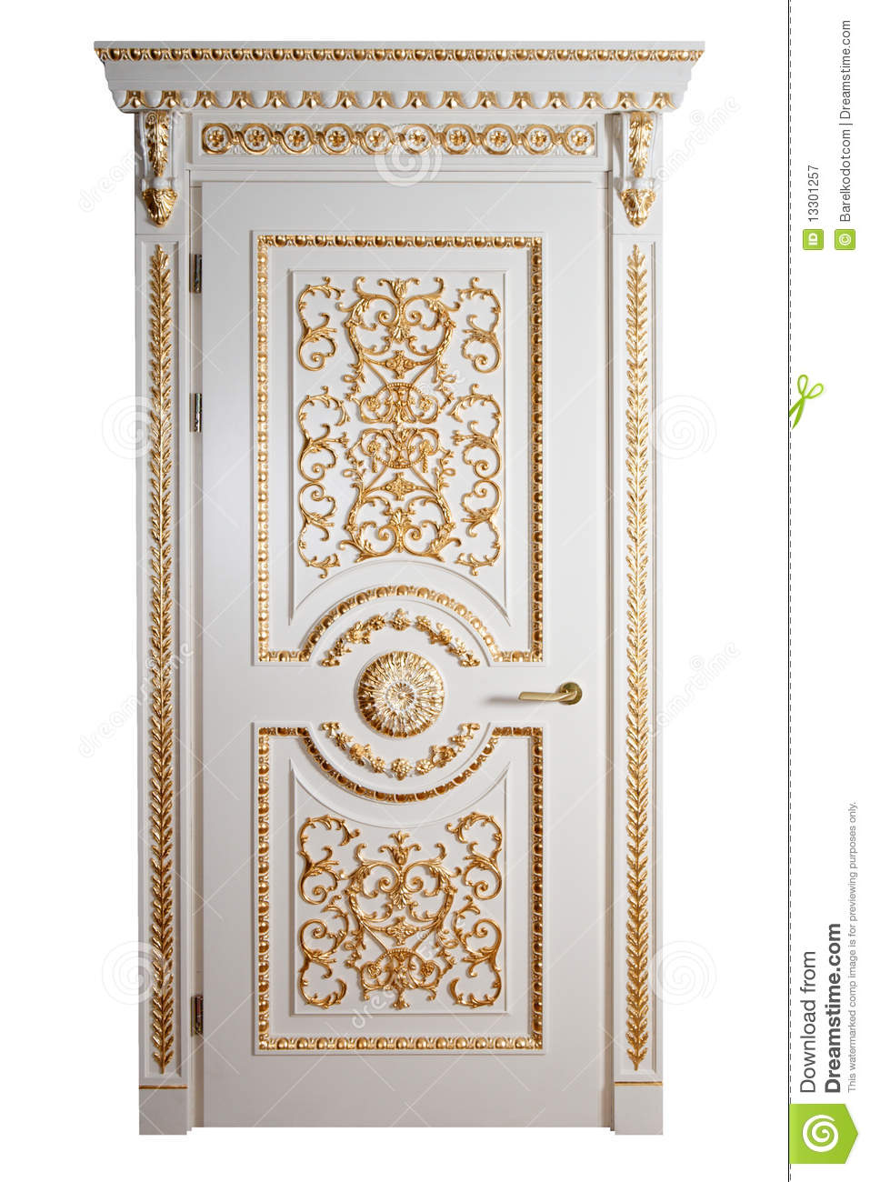 Handmade luxury door royalty free stock photography for Entrance doors