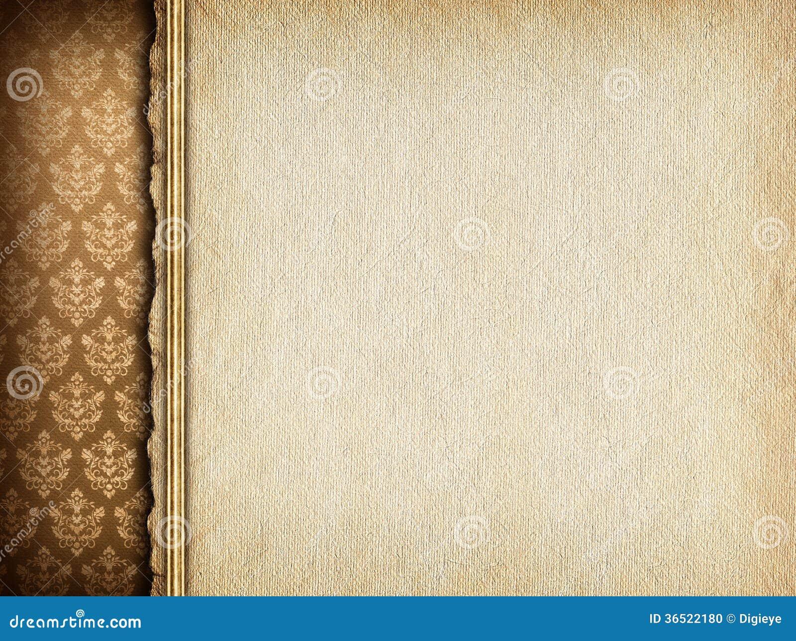 Handmade paper sheet on wallpaper background stock for Wallpaper sheets