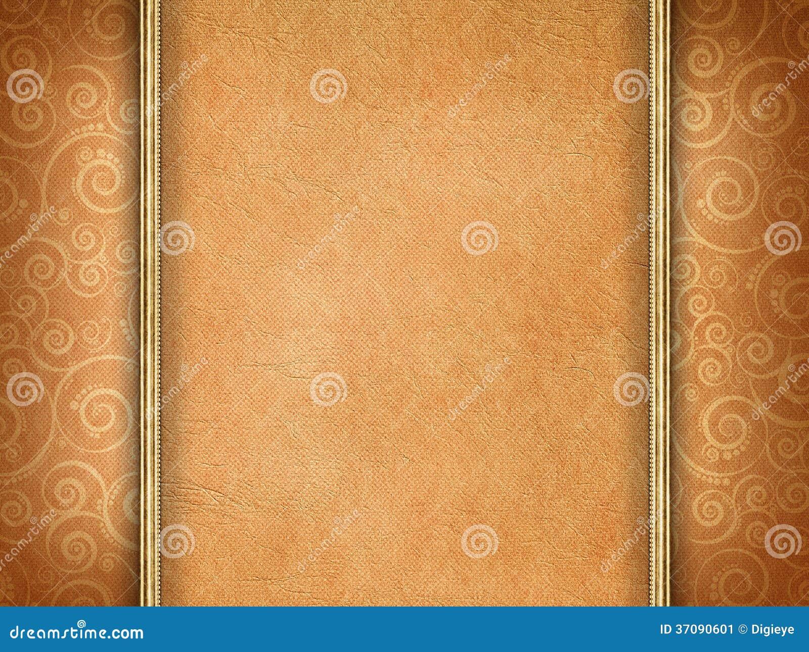 Download Handmade Papier Na Wzorzystym Tle Ilustracji - Ilustracja złożonej z blank, roczniki: 37090601