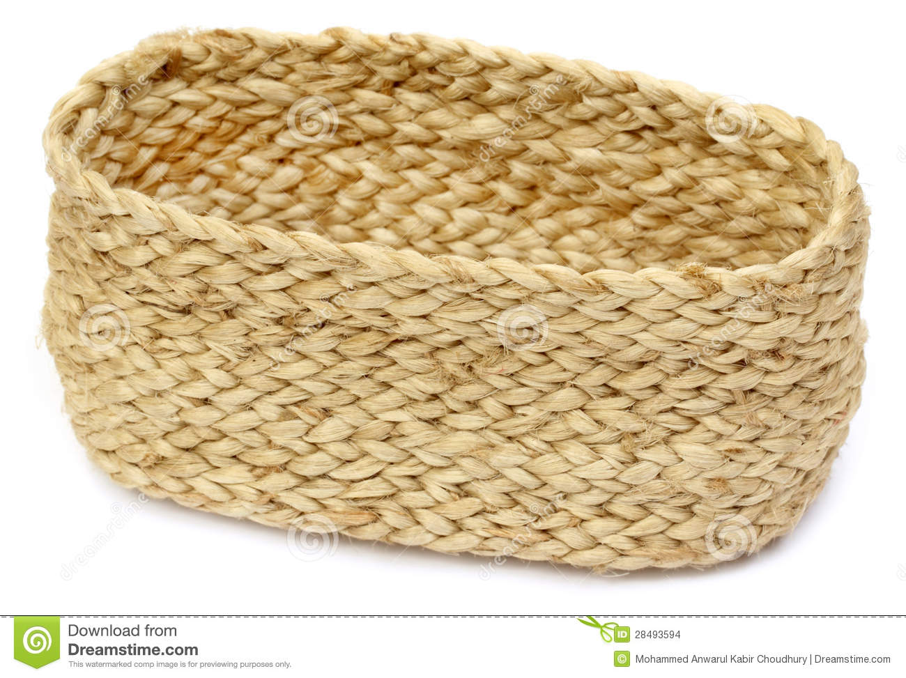 Handmade Rope Basket : Handmade rope basket stock images image