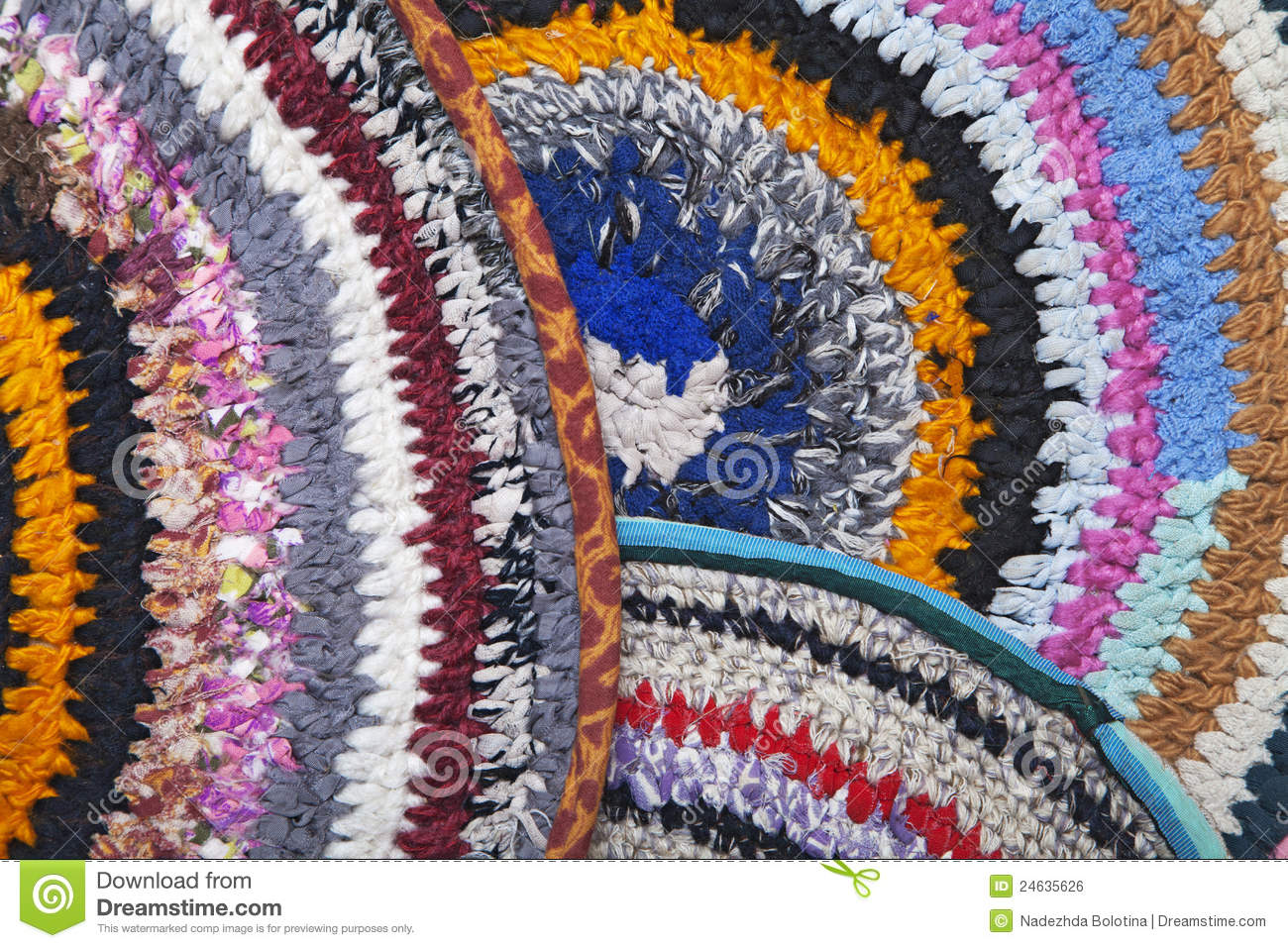 Marvelous Colorful Crocheted Handmade ...
