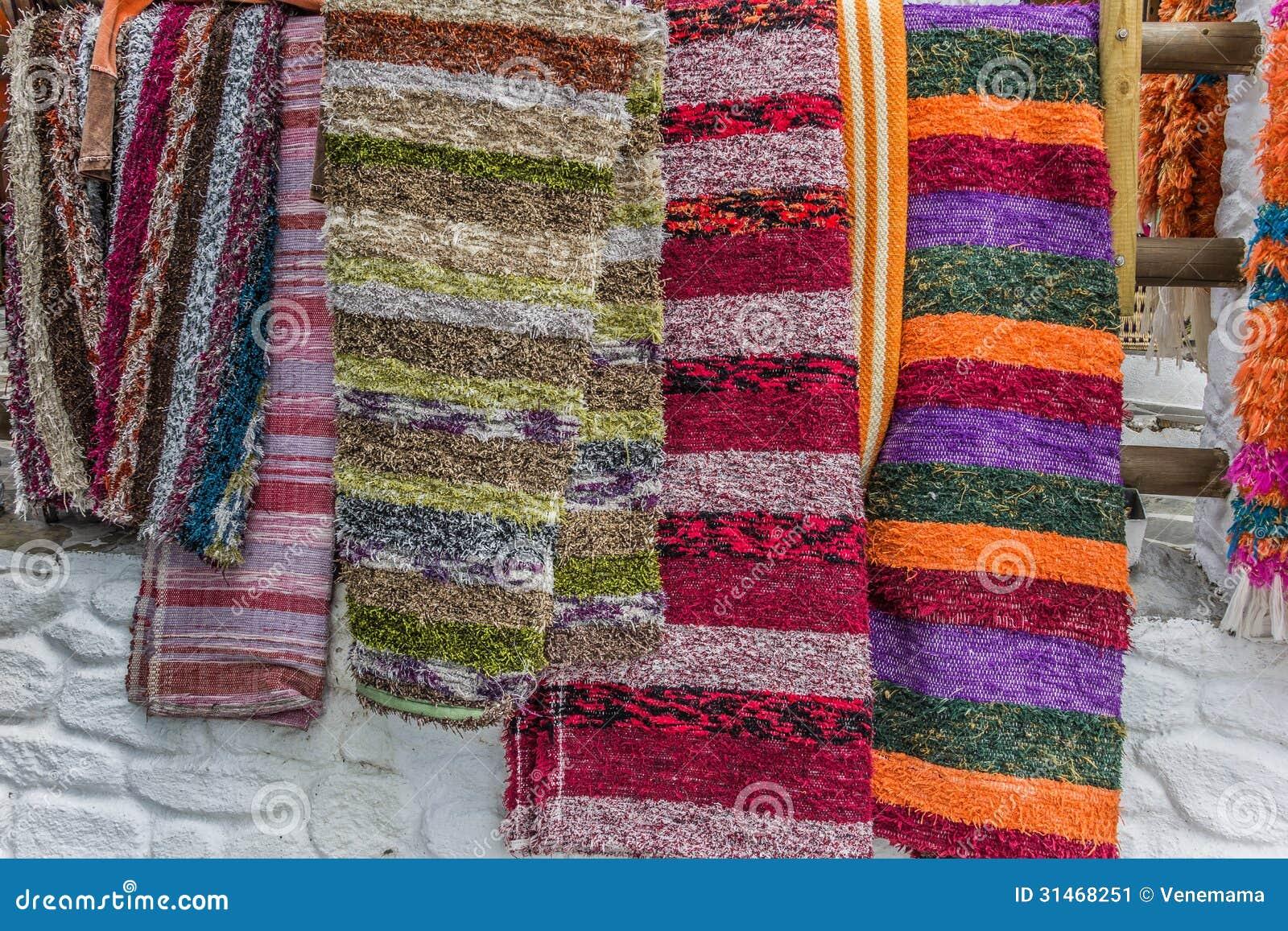 Handmade Rugs Of Las Alpujarras Stock Image