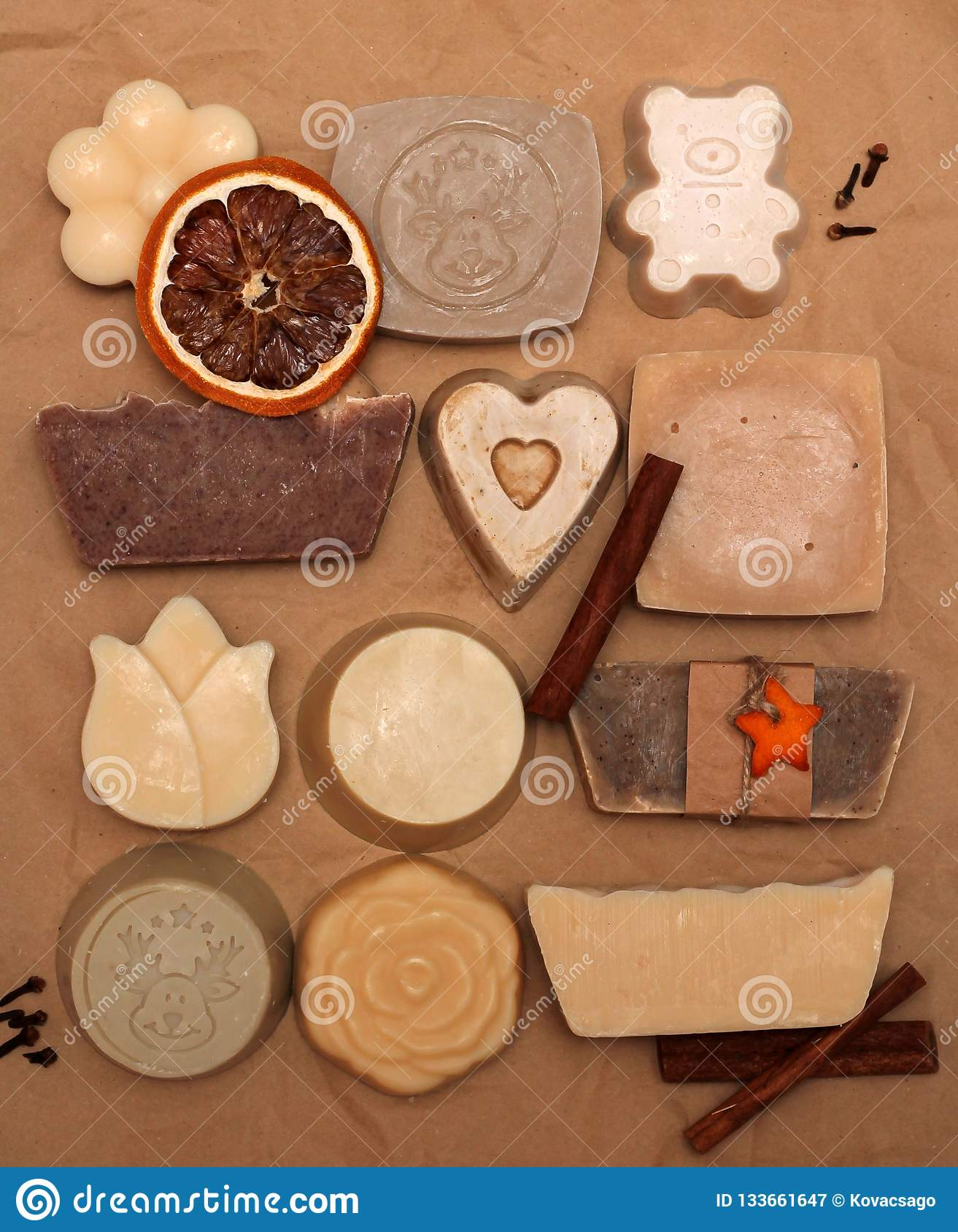 Handmade soap made with love