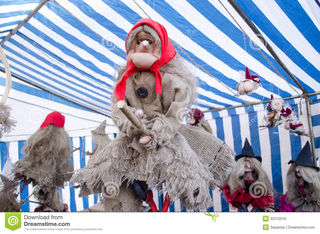 ... Figure Broom Market Fair Royalty Free Stock Image - Image: 32210516