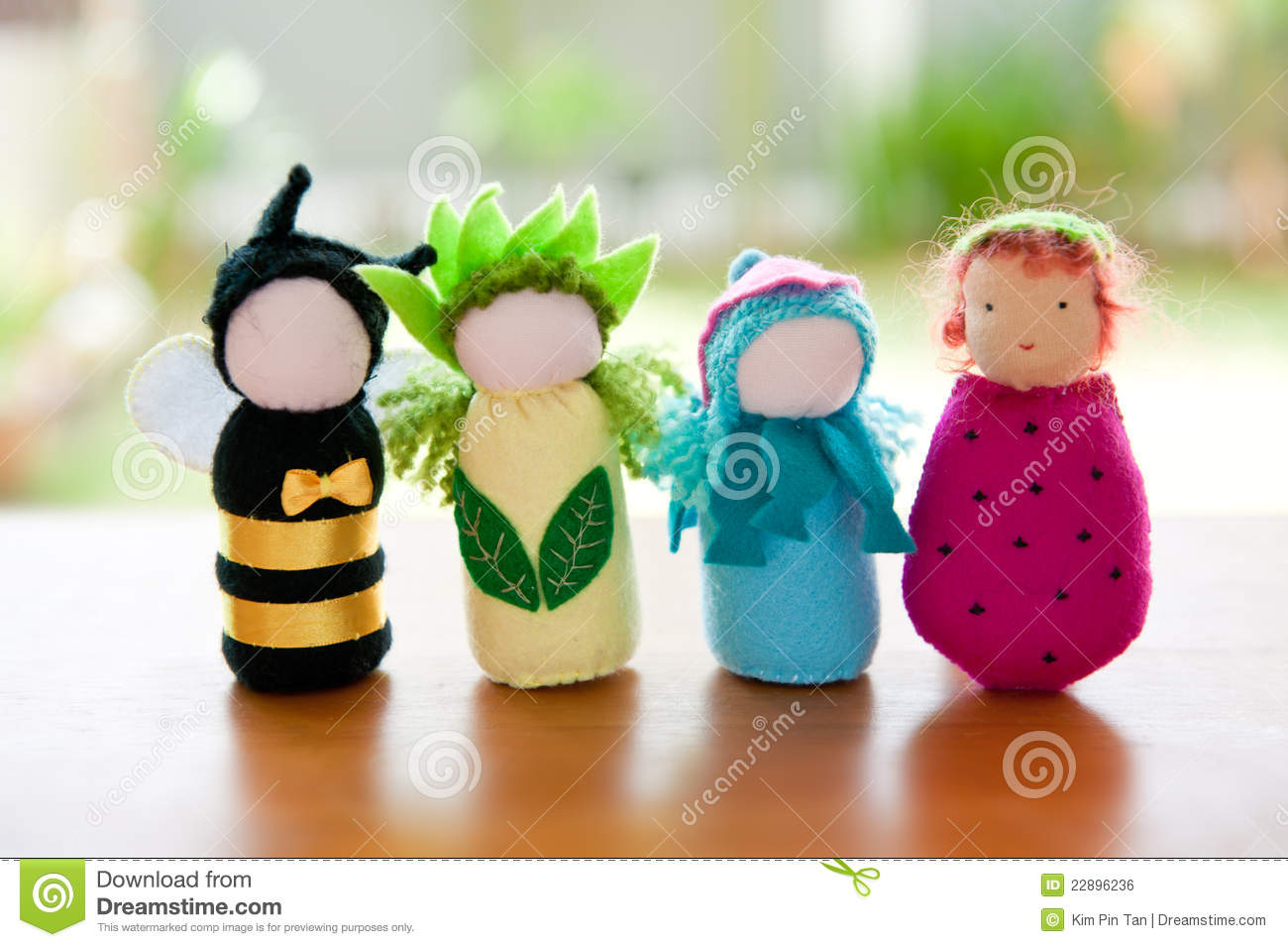Handmade Waldorf Soft Toys Stock Photo Image 22896236