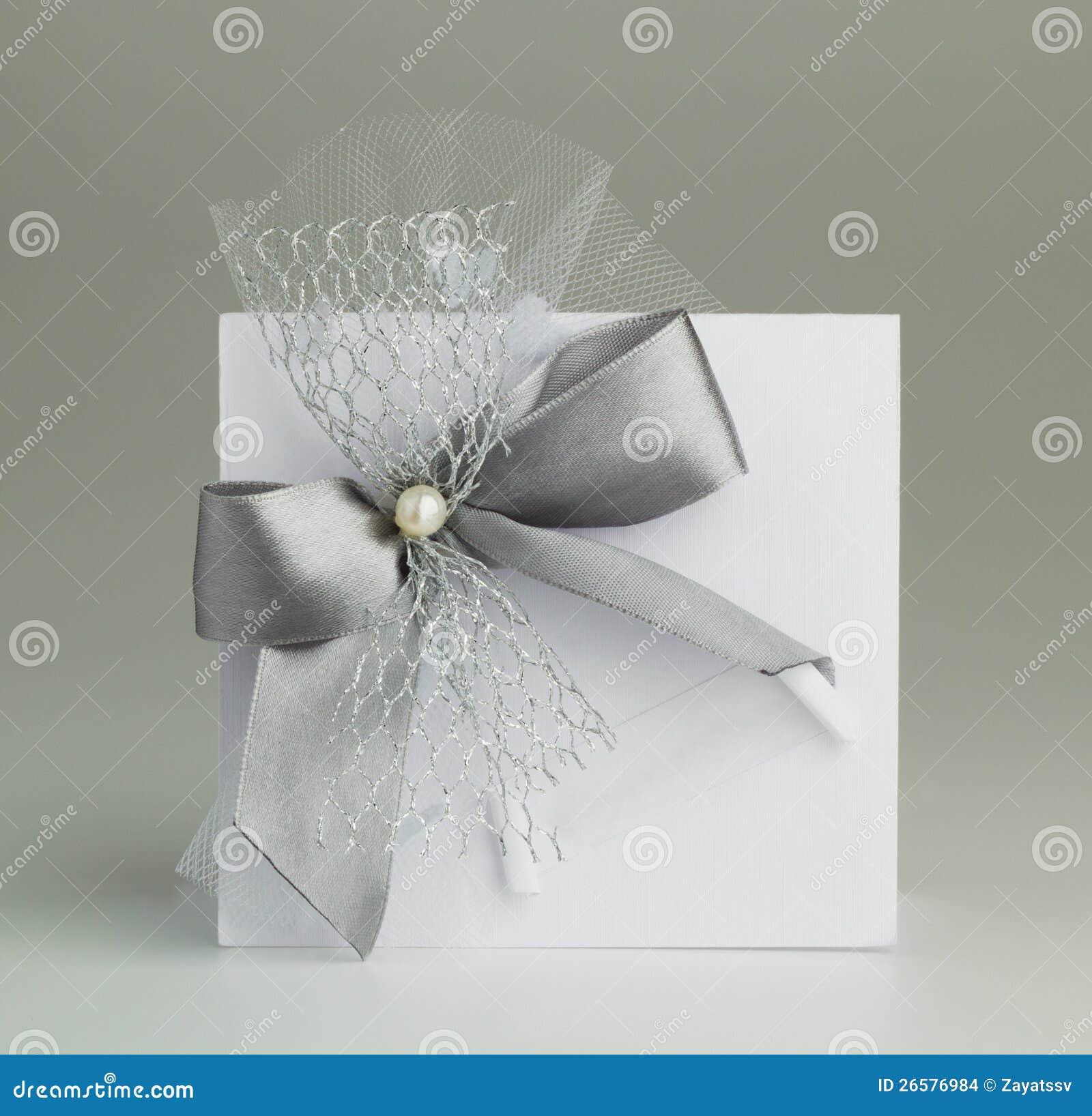 Black and white handmade wedding cards