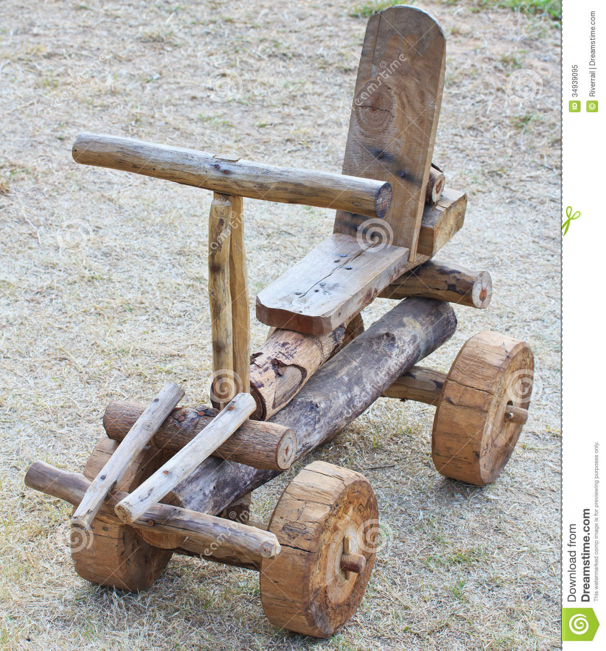 Handmade Wooden Car As A Toy Royalty Free Stock Photo ...