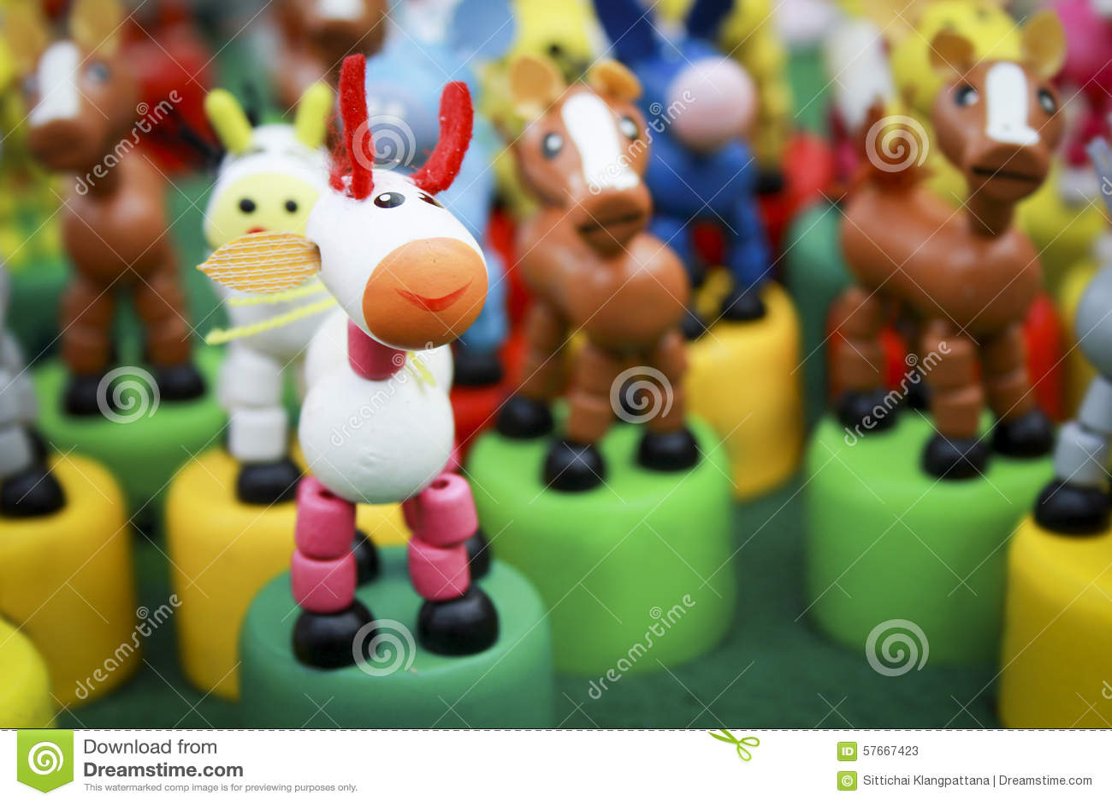 Handmade zabawkarski koń