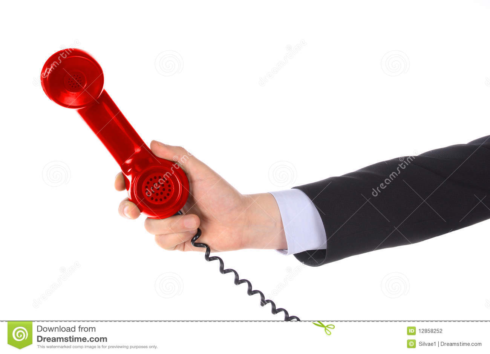 Handmottagaretelefon