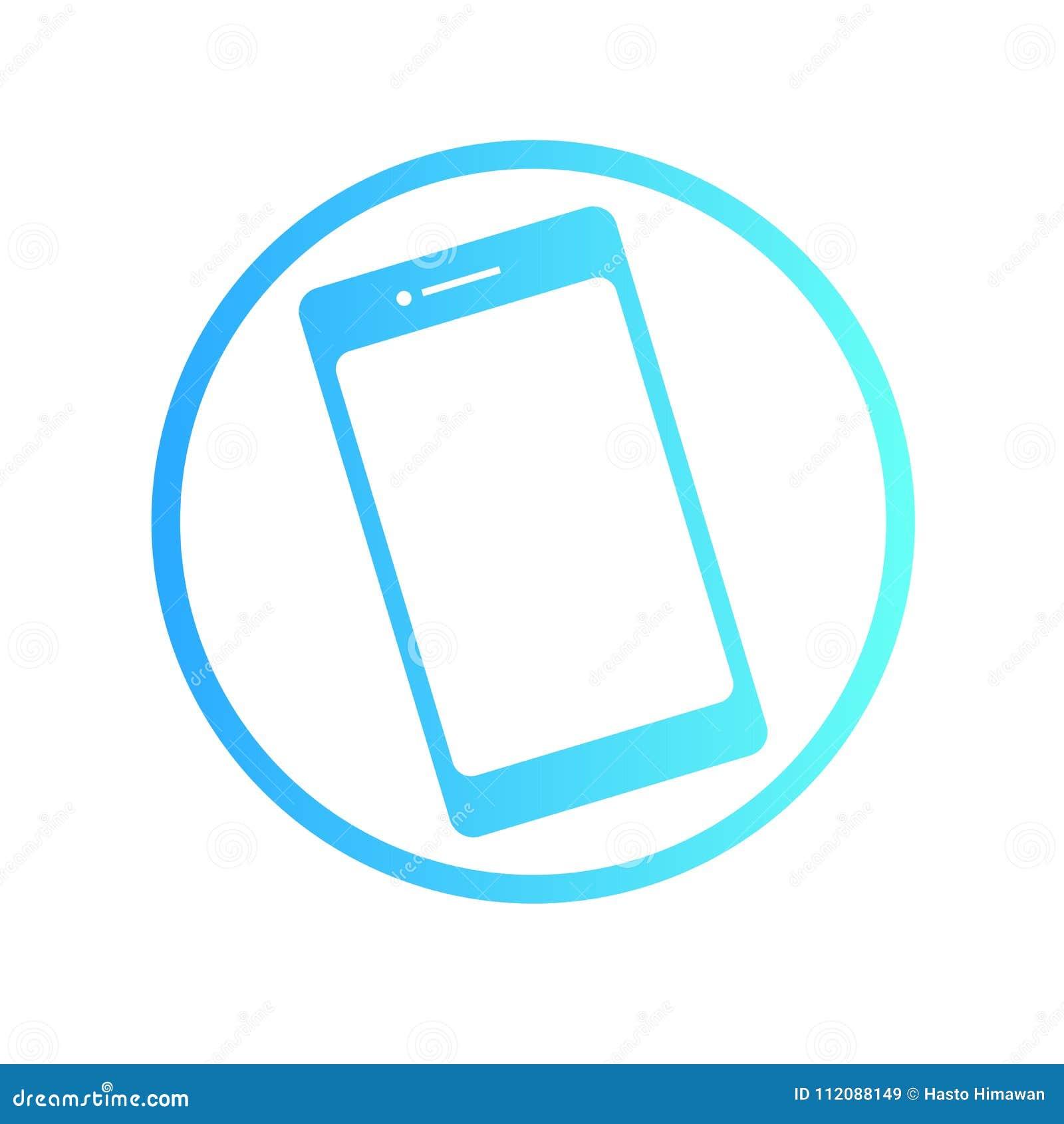 Handphone Logo Stock Vector Illustration Of Icon Object 112088149