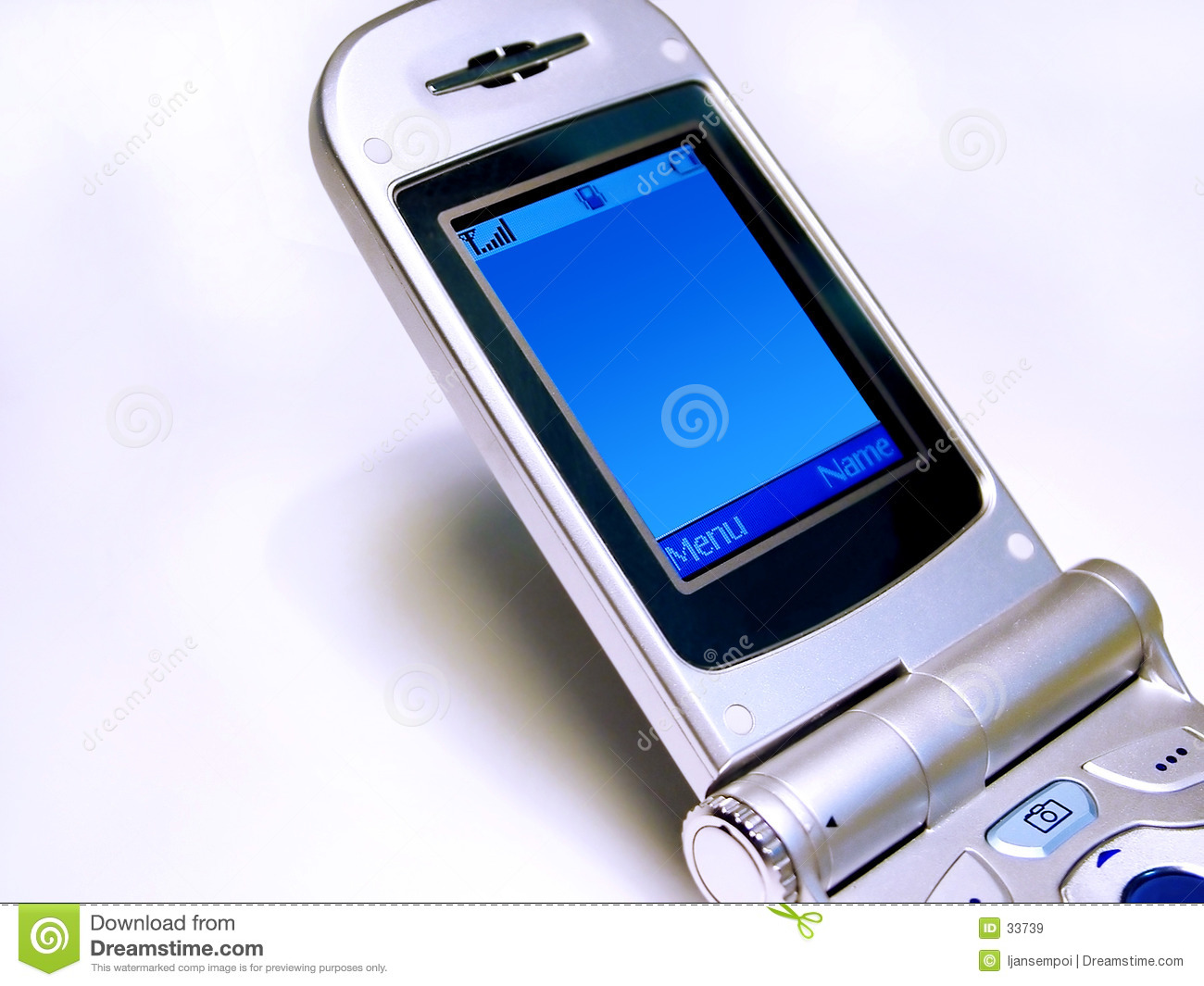 Handphone screen