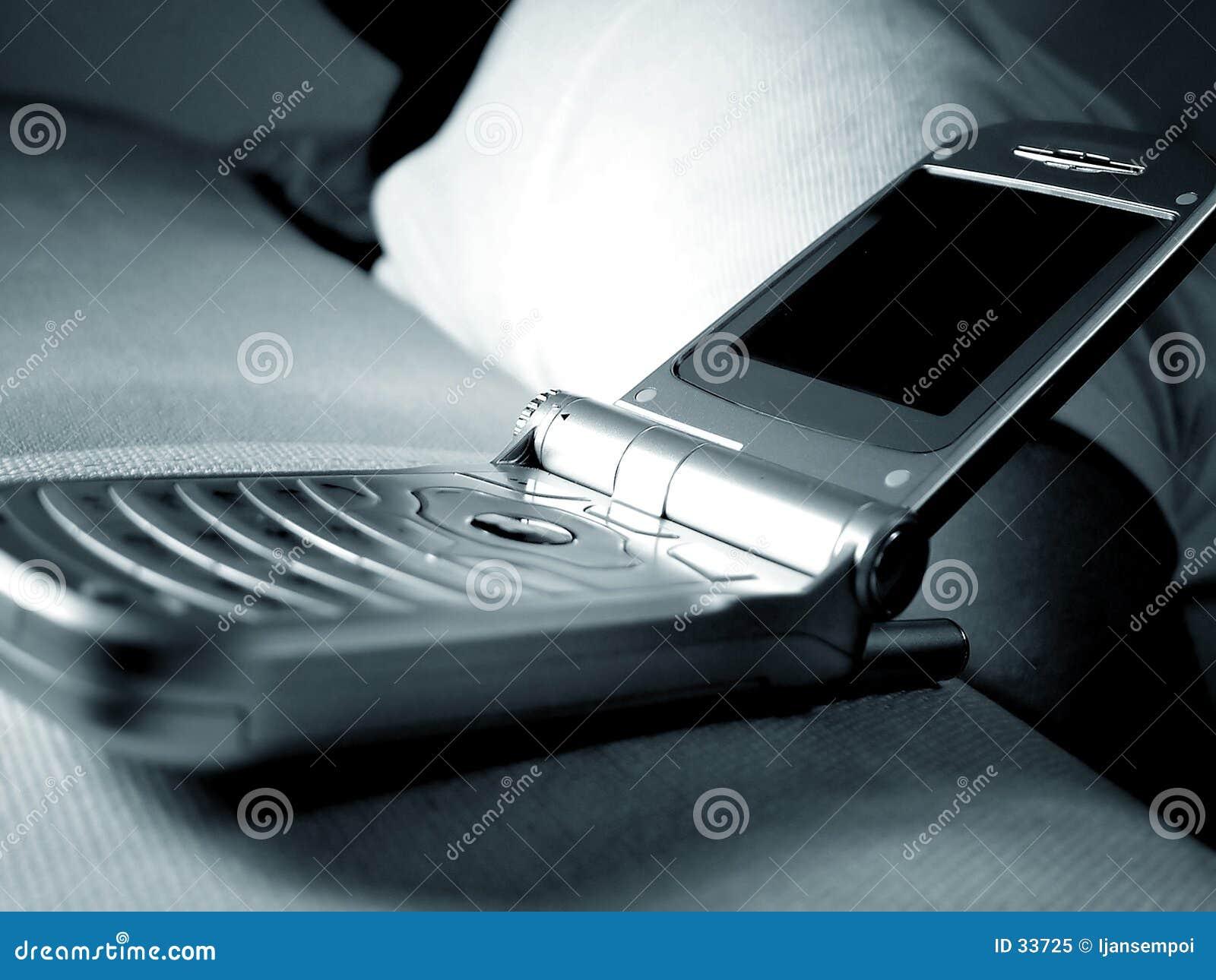 Handphone van de tik